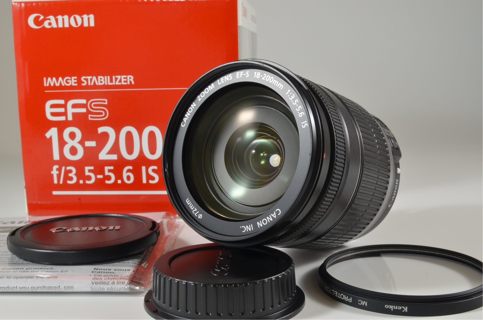 canon zoom lens ef-s 18-200 mm f/3.5-5.6 is lens