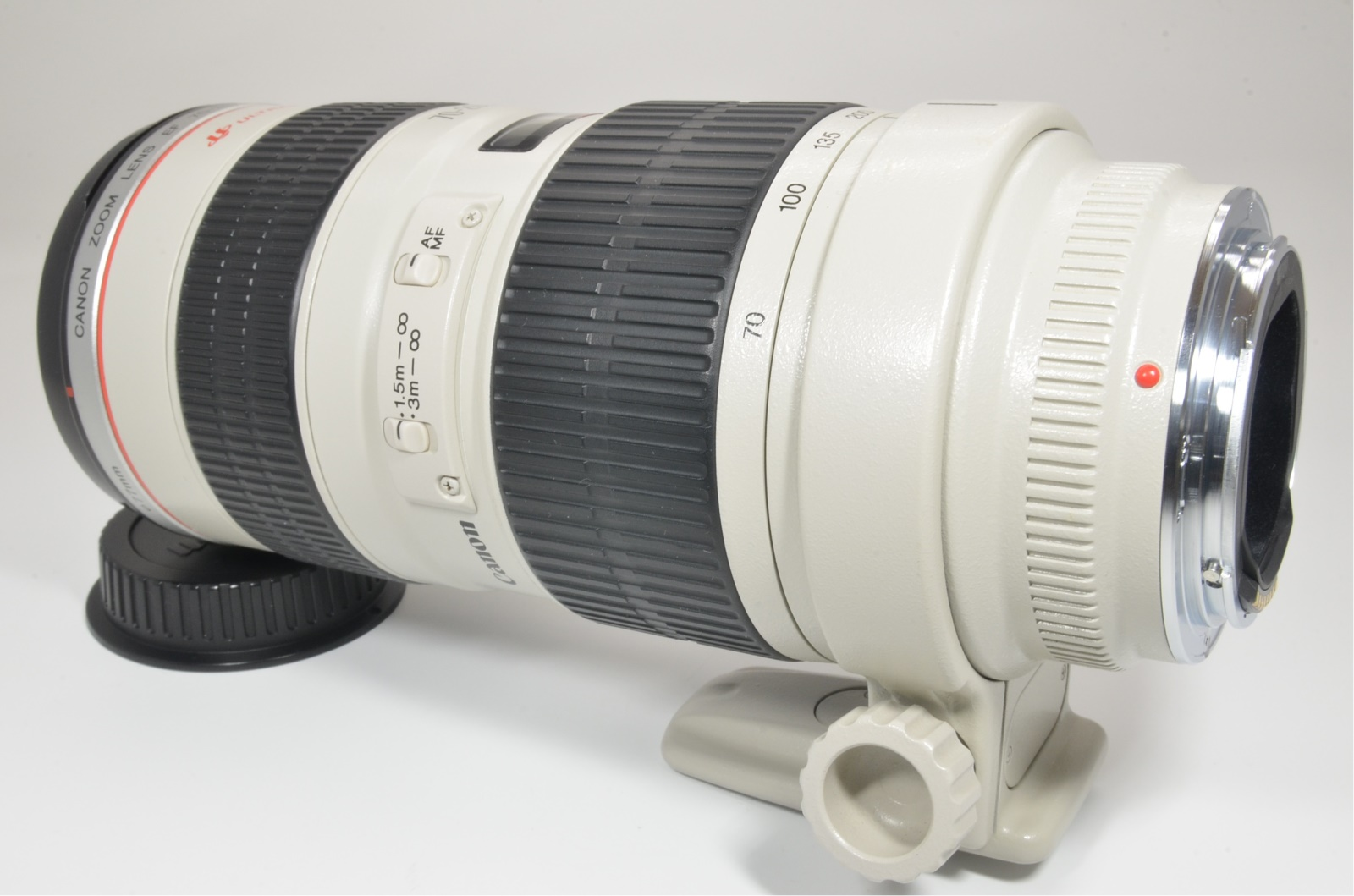 canon ef 70-200mm f/2.8 l usm ultrasonic lens #a1337 near mint shooting tested