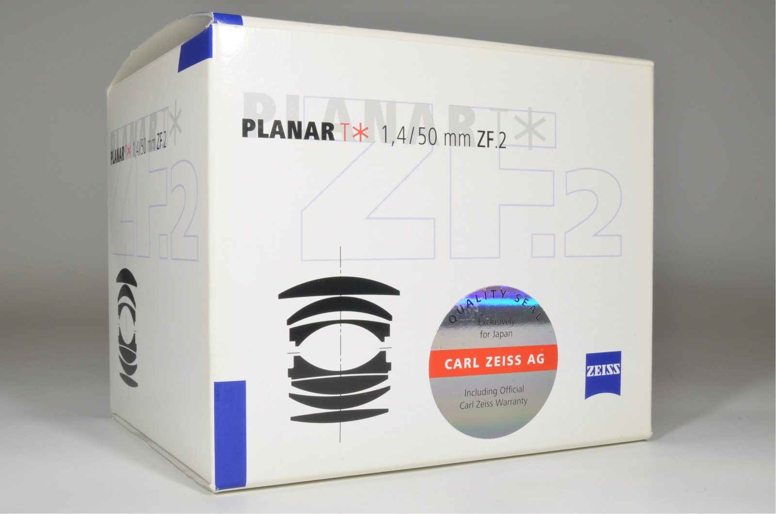 carl zeiss planar t* 50mm f1.4 zf.2 for nikon ai-s ais