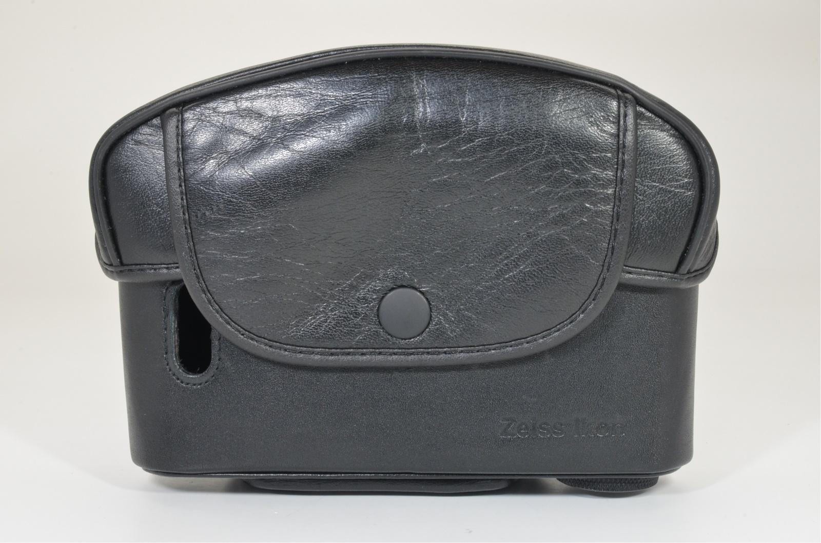 cosina zeiss ikon zm leather camera case semi-hard case from japan