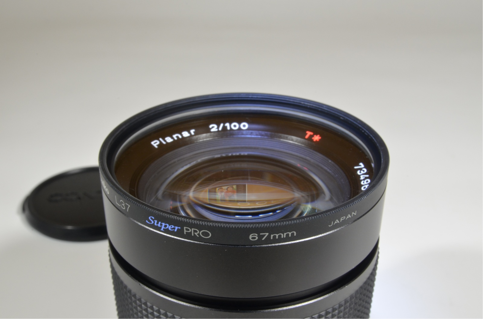 contax carl zeiss planar t* 100mm f2 mmj