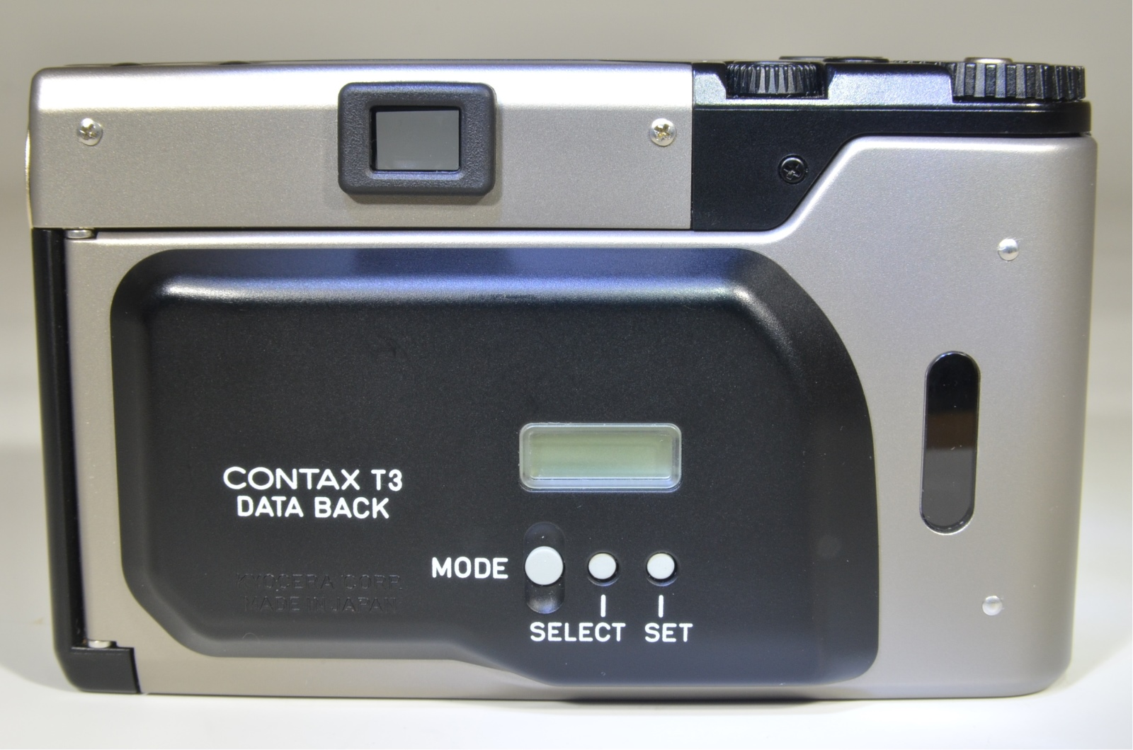 contax t3 data back point & shoot 35mm film camera