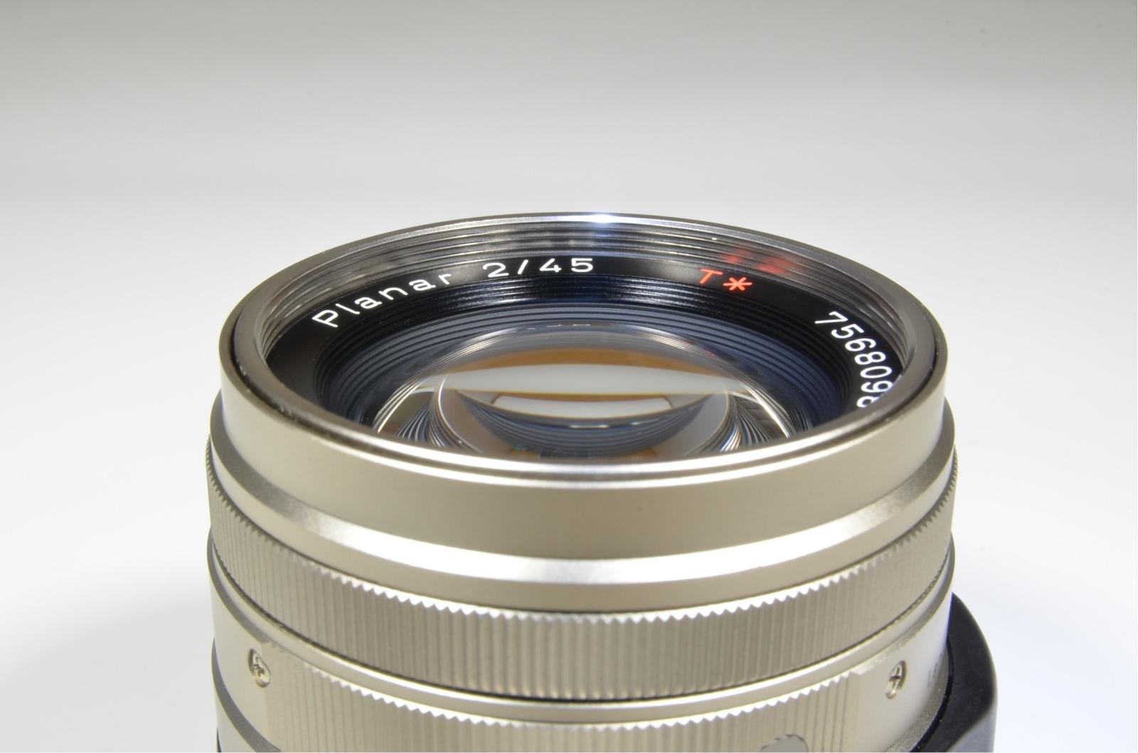 contax carl zeiss planar t* 45mm f2