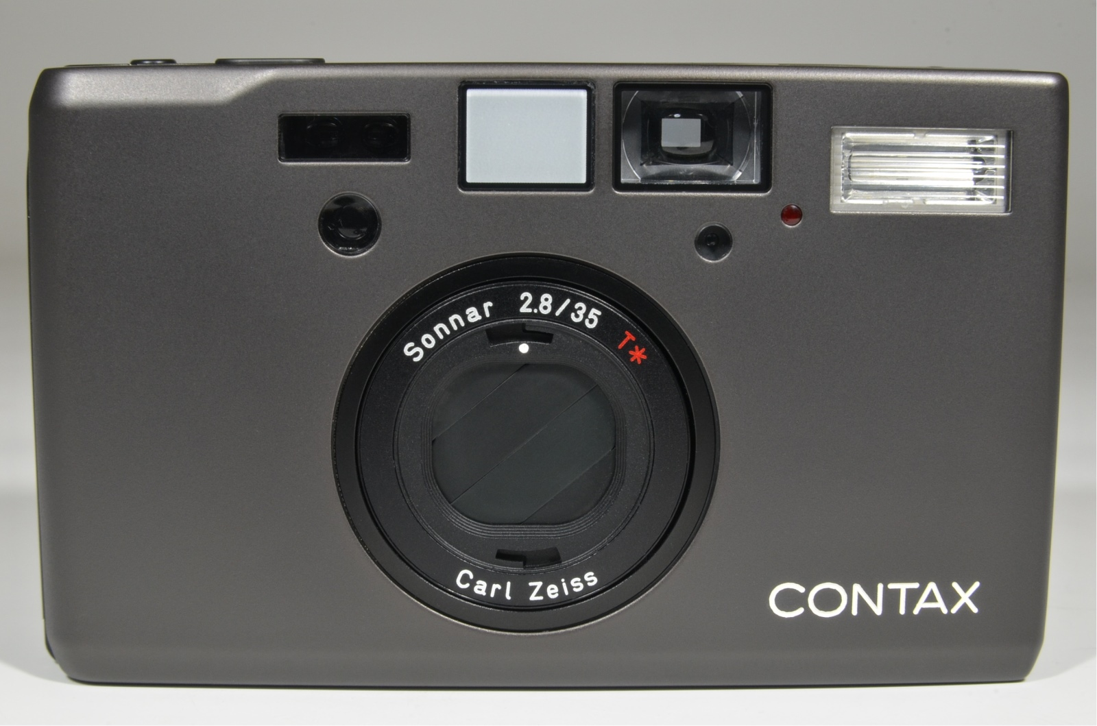 contax t3 data back titanium black point & shoot 35mm film camera