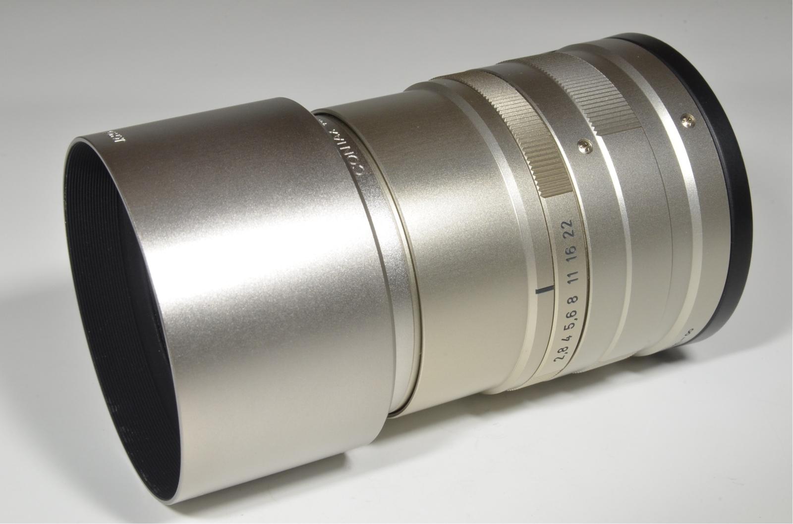 contax carl zeiss t* sonnar 90mm f2.8 g lens