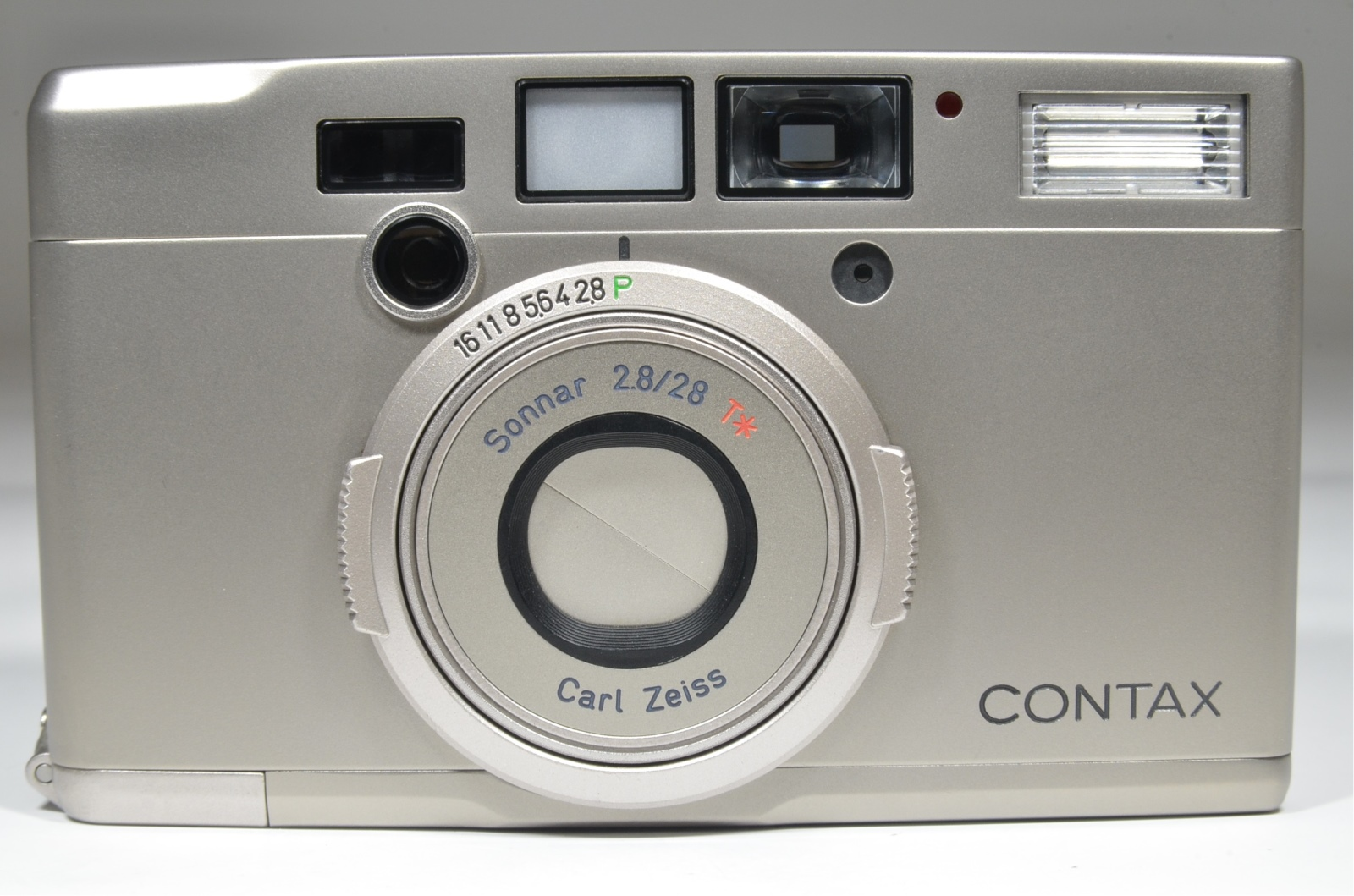 contax tix aps point & shoot film camera