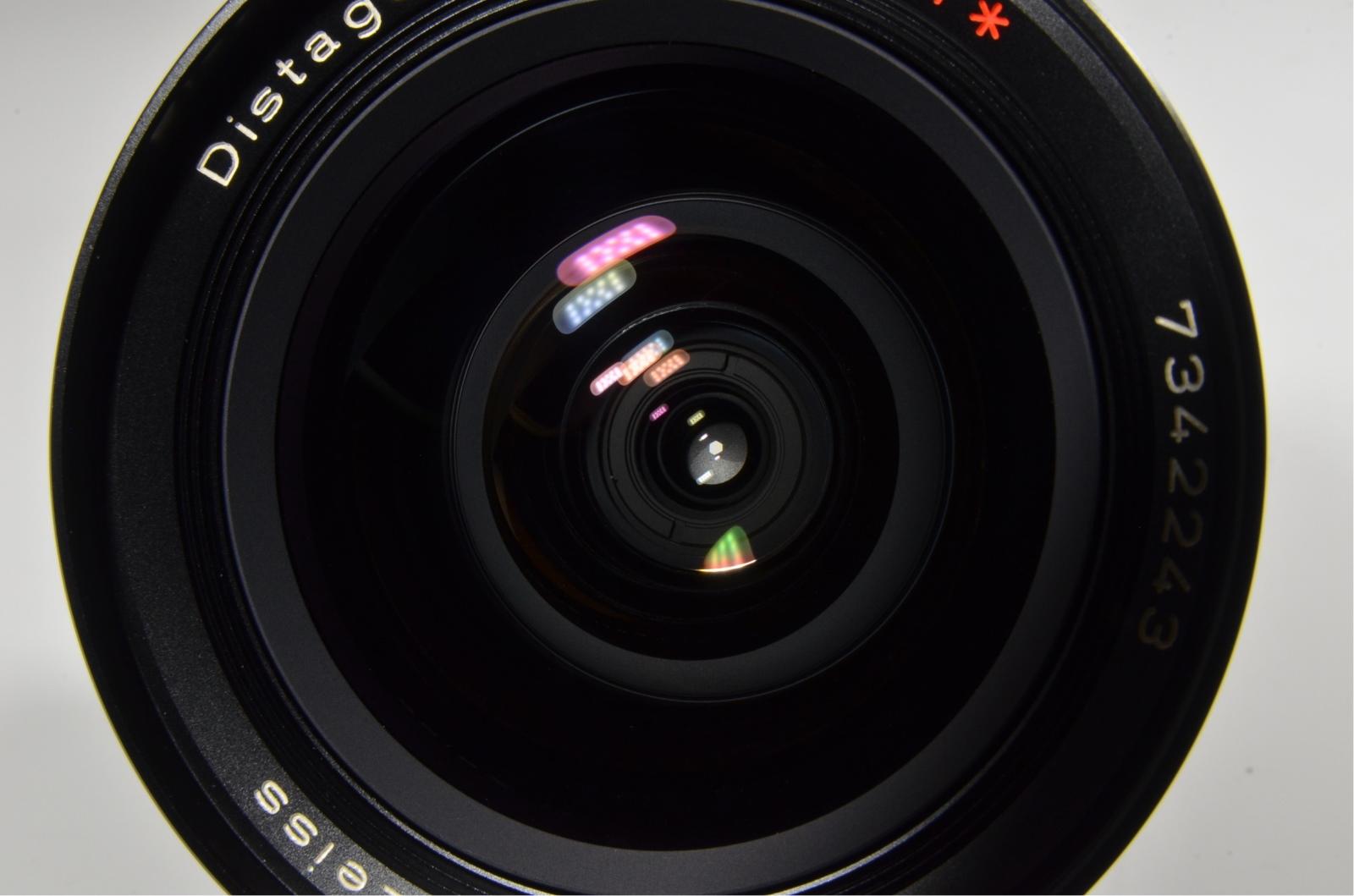 contax carl zeiss distagon t* 18mm f4 mmj