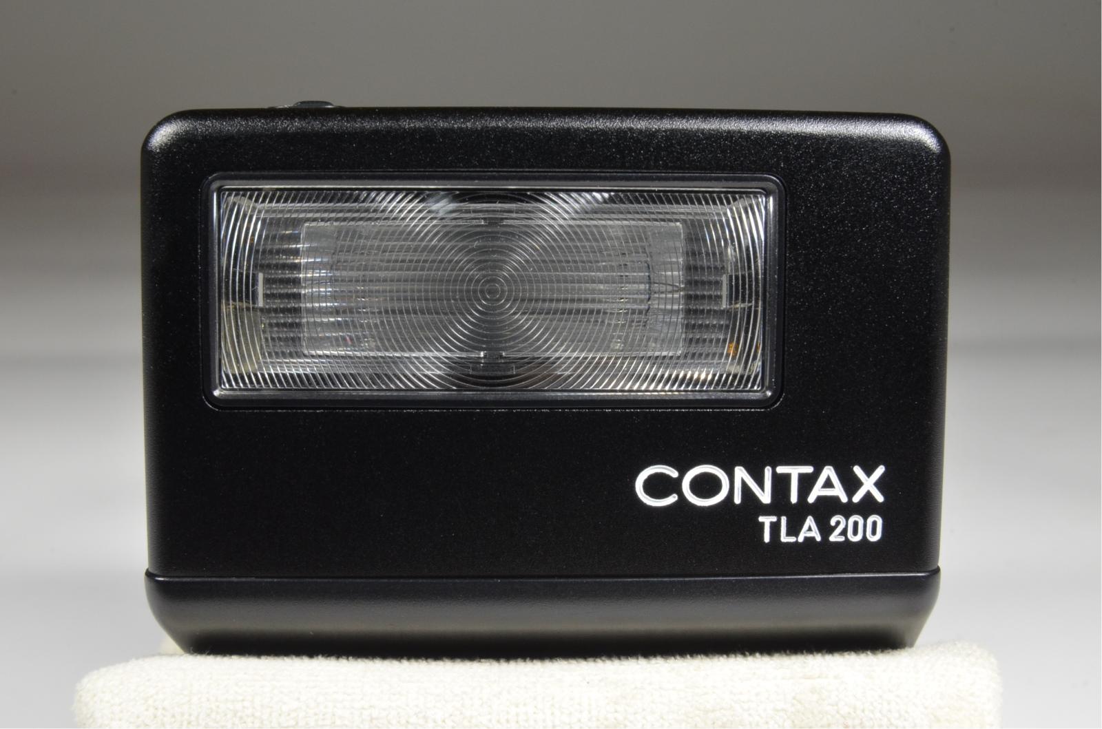 contax tla200 black in boxed
