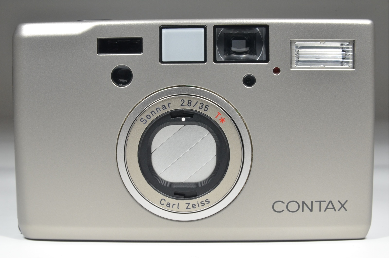contax t3 data back p&s 35mm film camera with full leather case