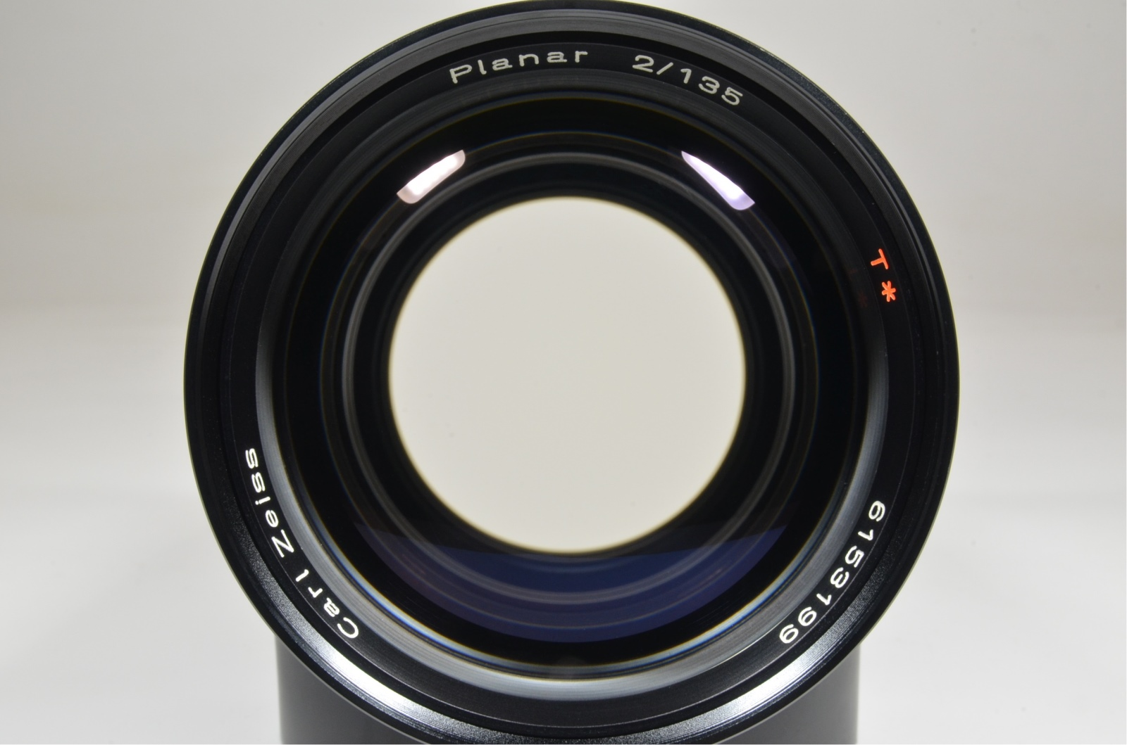 contax carl zeiss planar t* 135mm f2 mmg made in west germany