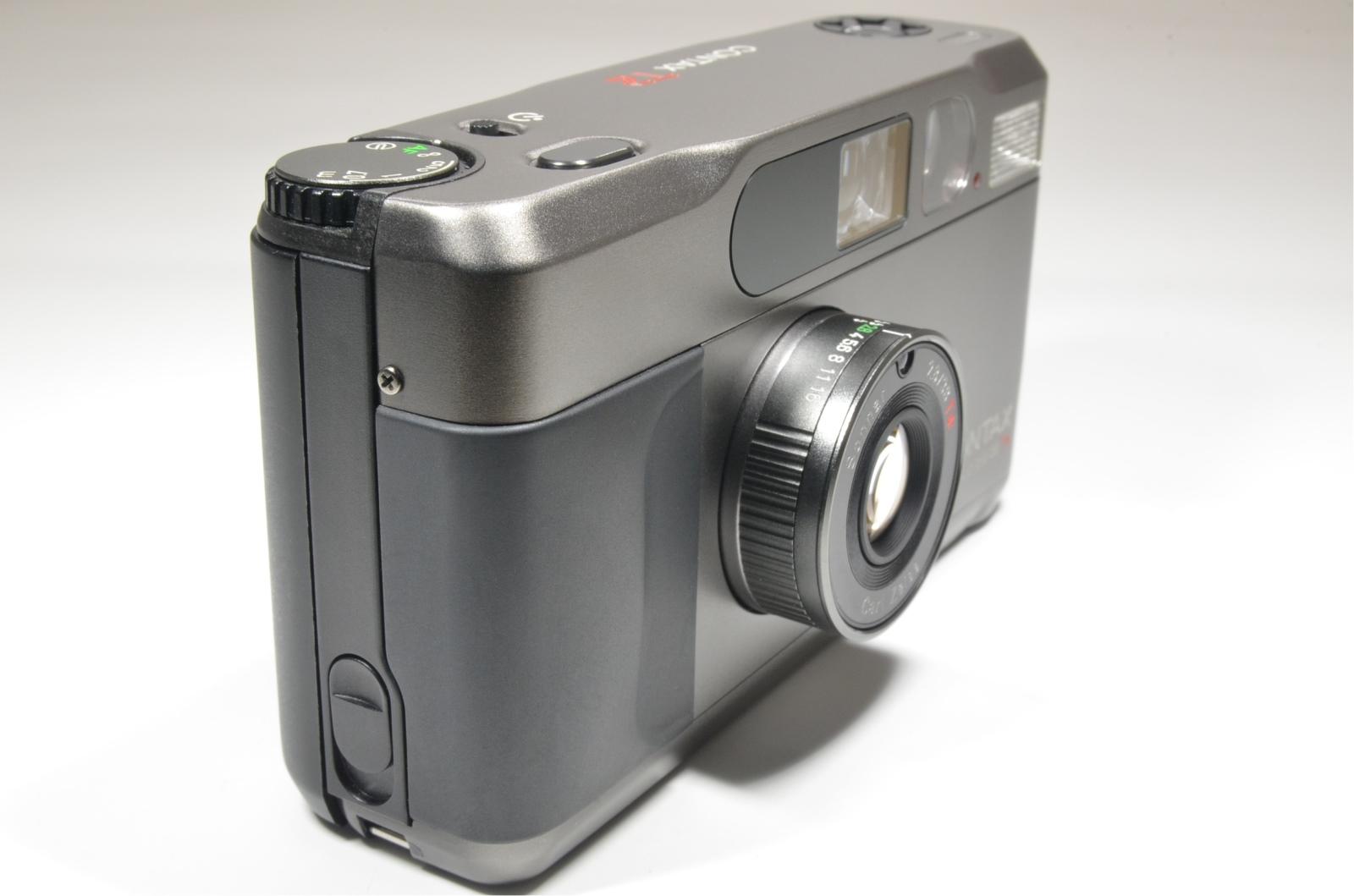 contax t2 titanium black point & shoot 35mm film camera