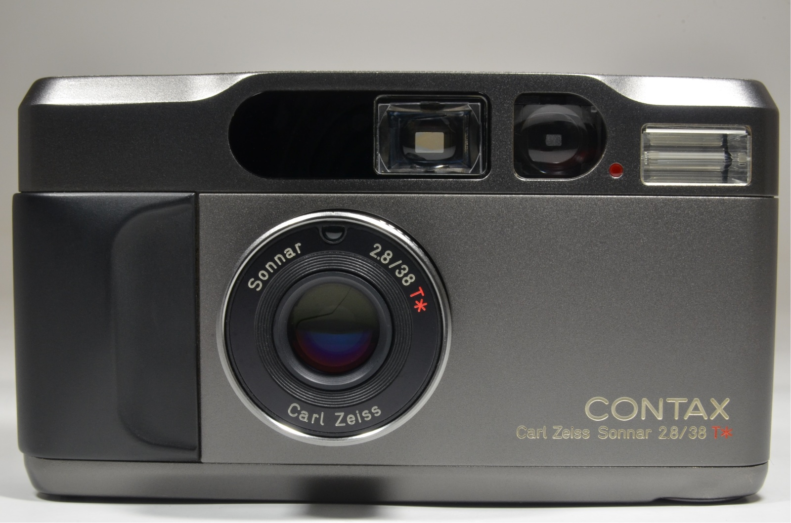 contax t2 titanium black data back p&s 35mm film camera