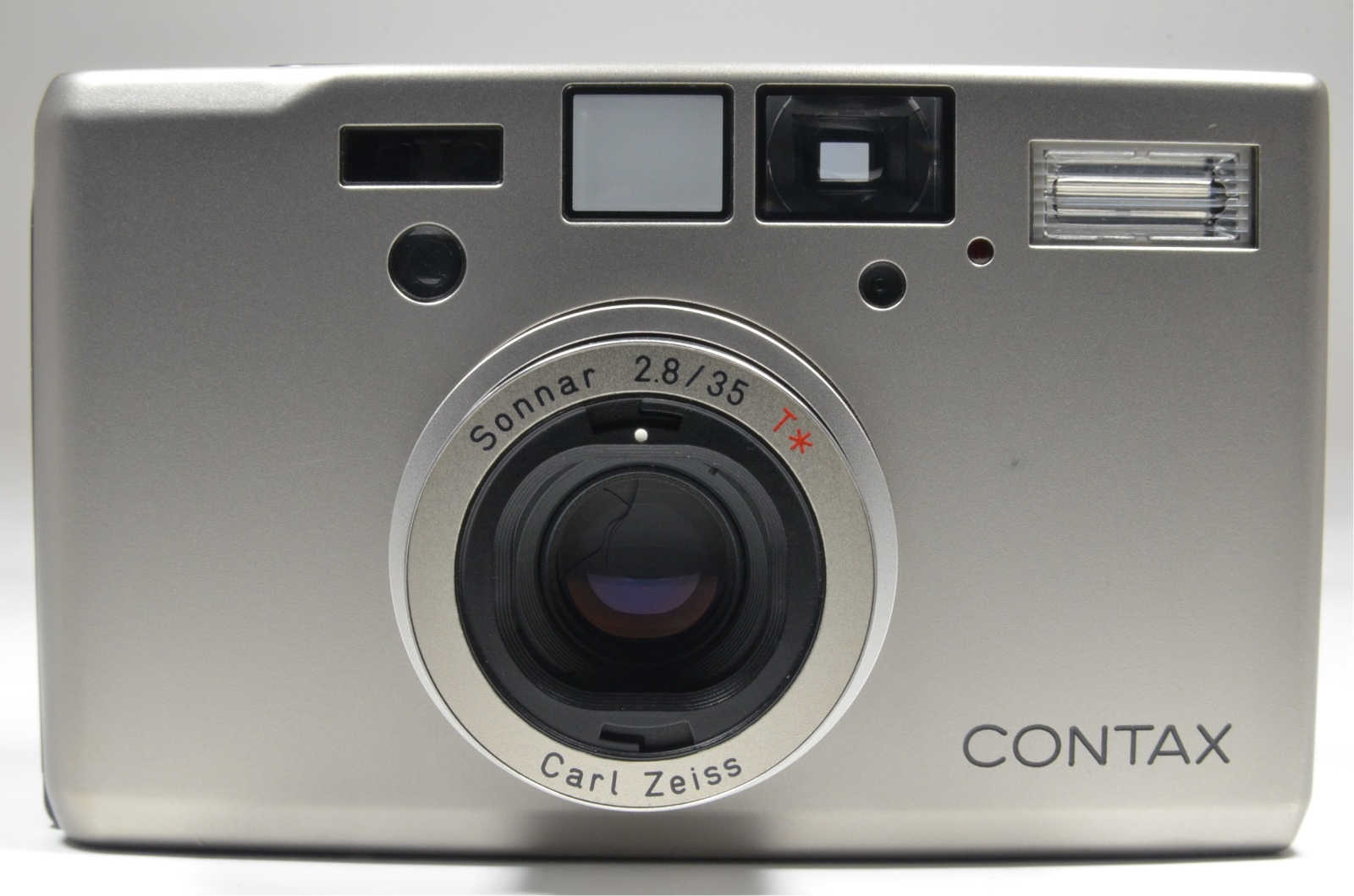 contax t3 data back with adapter, filter and lens hood