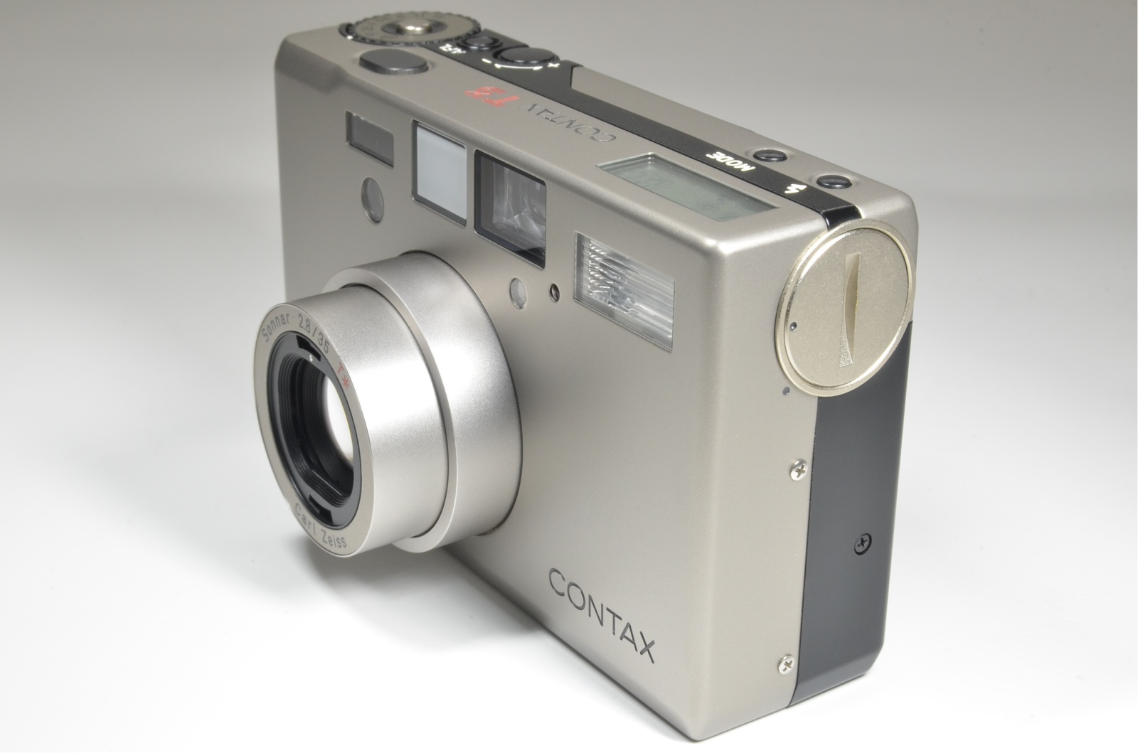 contax t3 point & shoot 35mm film camera in boxed from japan