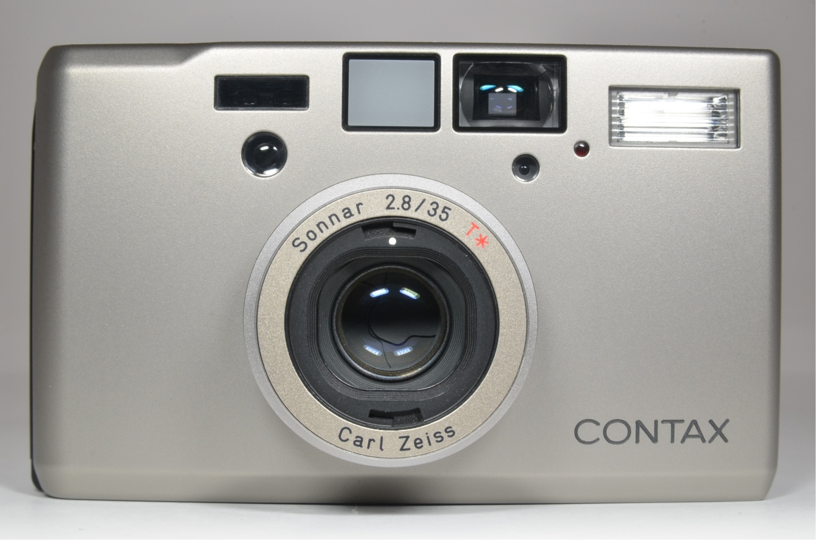 contax t3 in boxed with hirai case, lens hood and 4 filters