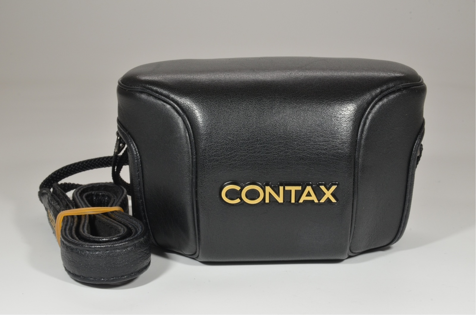 contax t3 black double teeth with data back, full case, hirai case