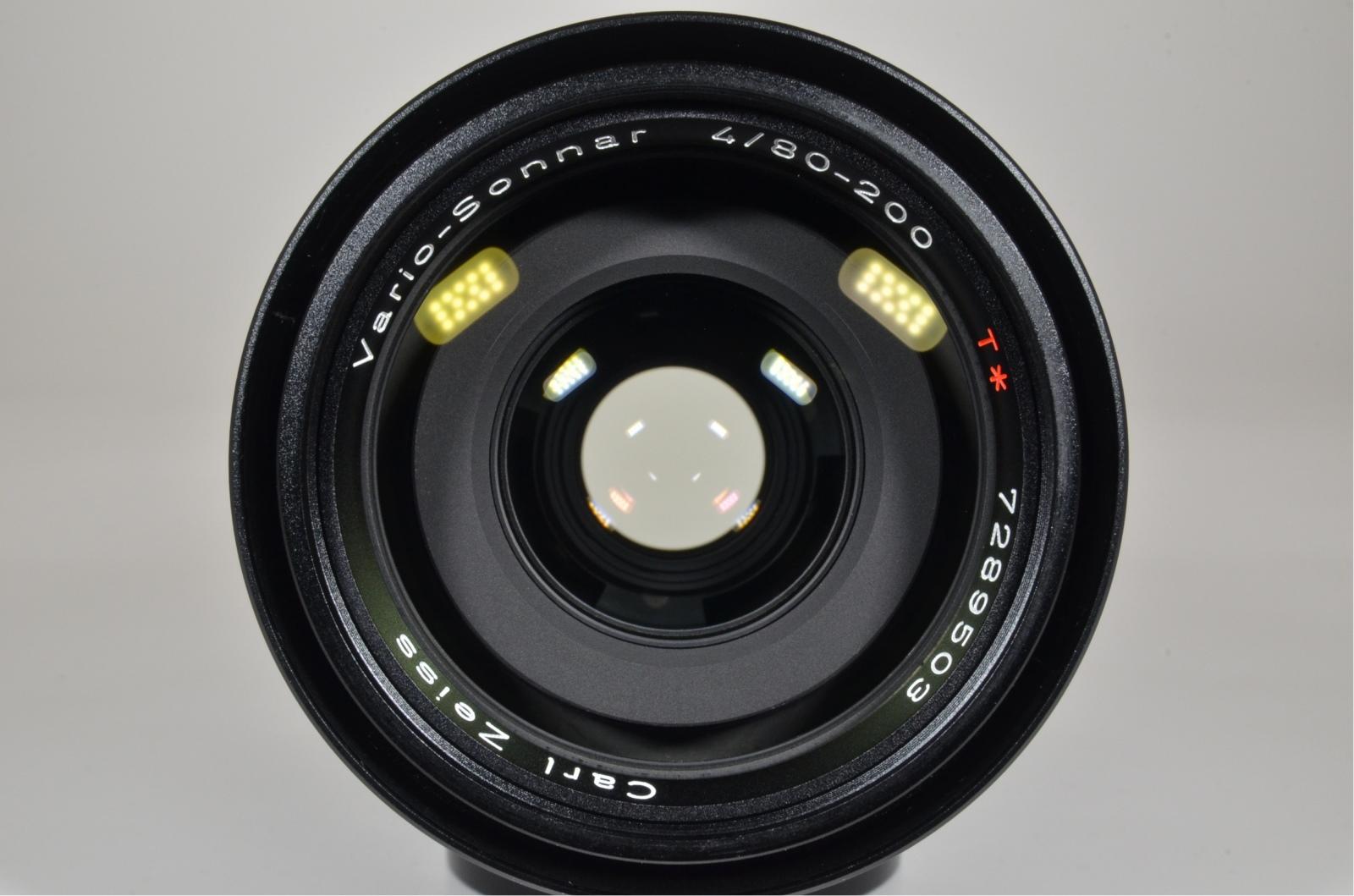 contax carl zeiss t* vario-sonnar 80-200mm f4 mmj c/y mount