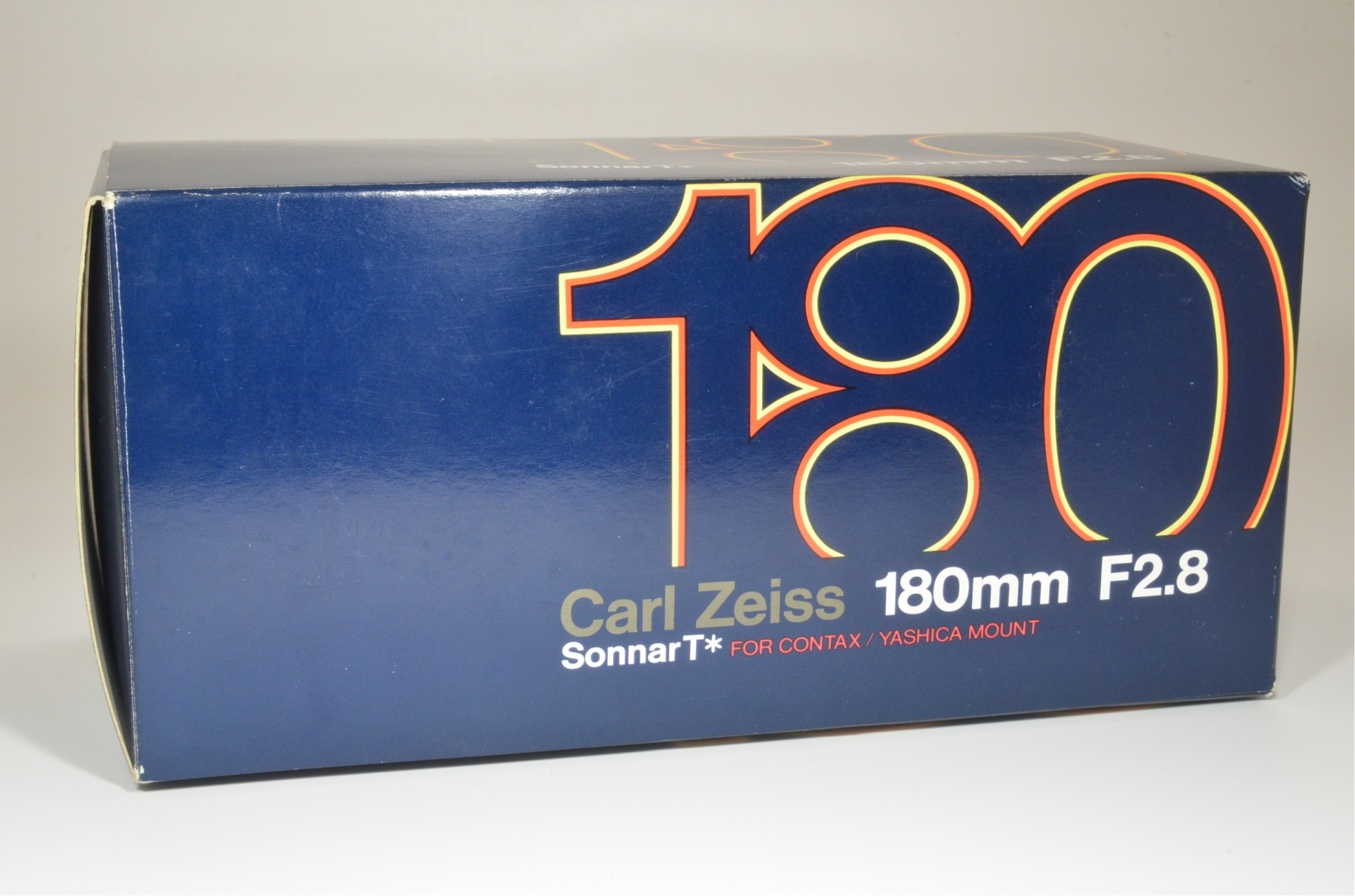 contax carl zeiss sonnar t* 180mm f2.8 mmj made in japan boxed