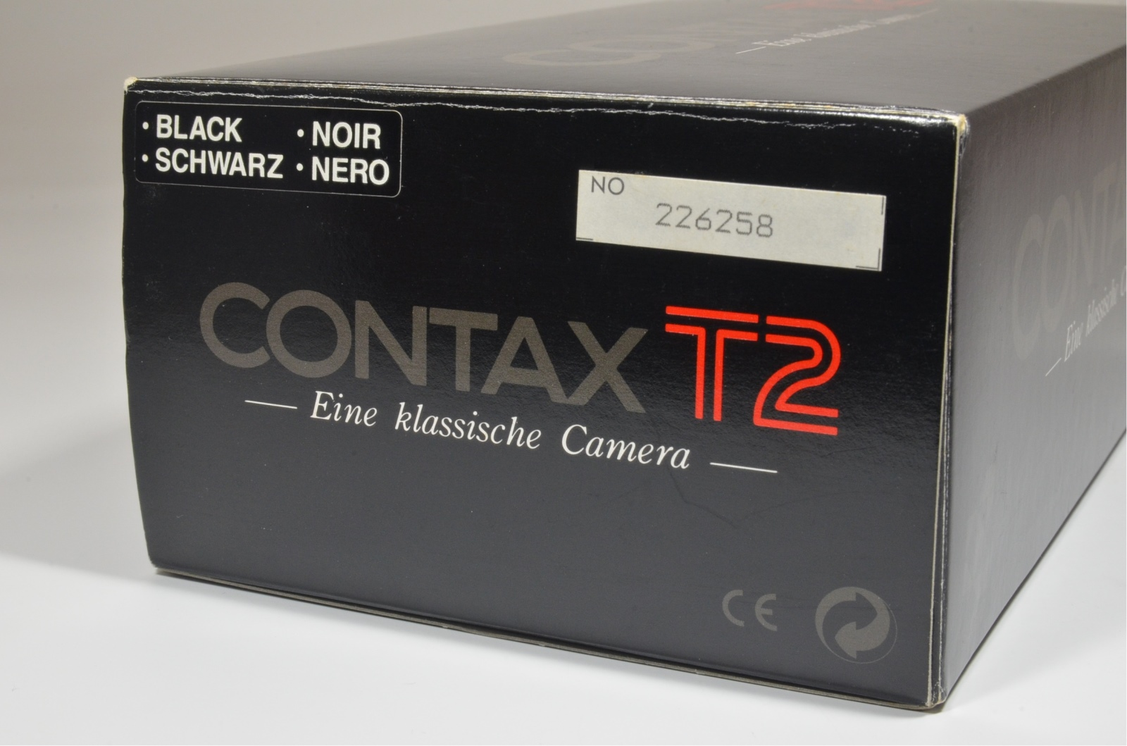 contax t2 black limited point & shoot 35mm film camera