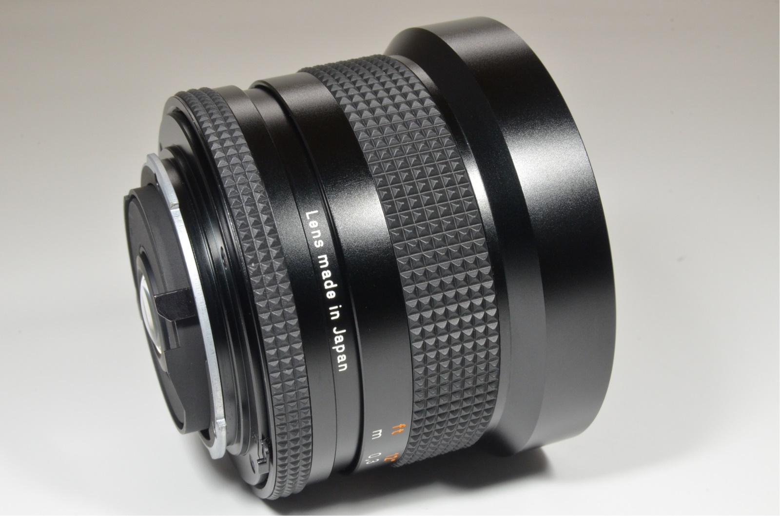 contax carl zeiss distagon t* 18mm f4 mmj made in japan