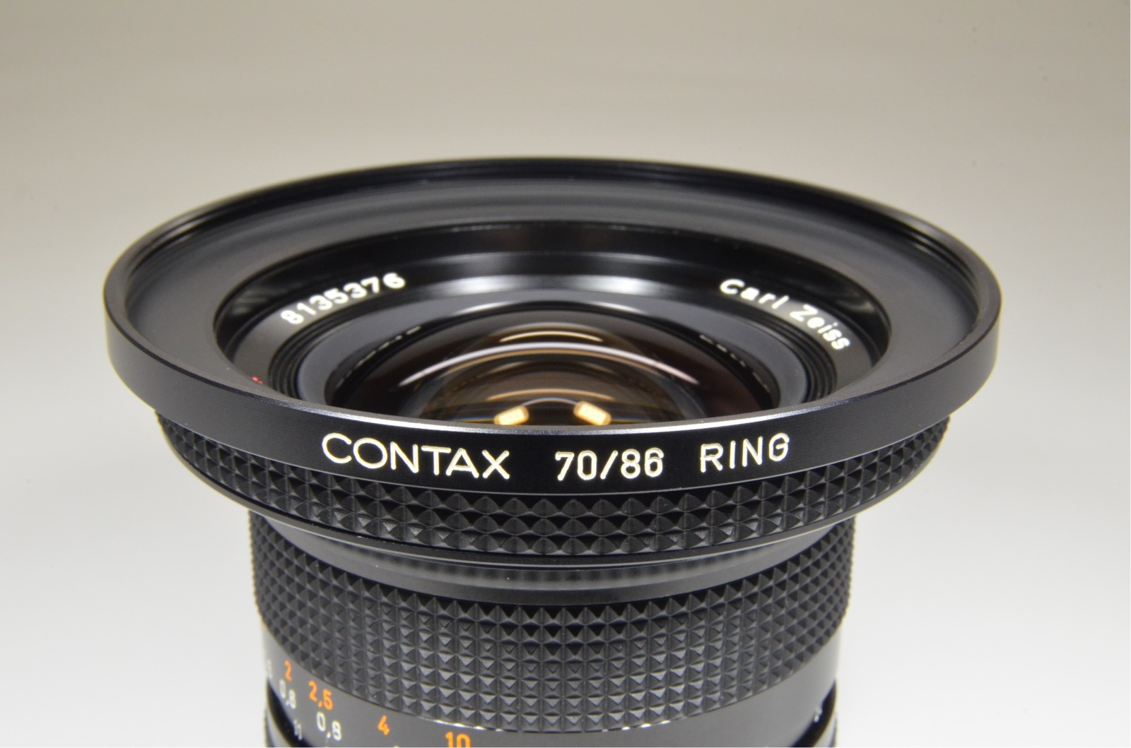 contax carl zeiss distagon t* 18mm f4 mmj japan with 70/86 ring