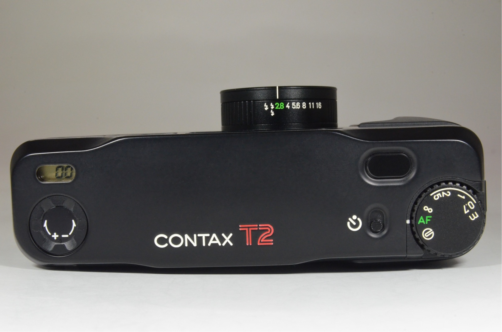 contax t2 black limited p&s 35mm film camera from japan film tested