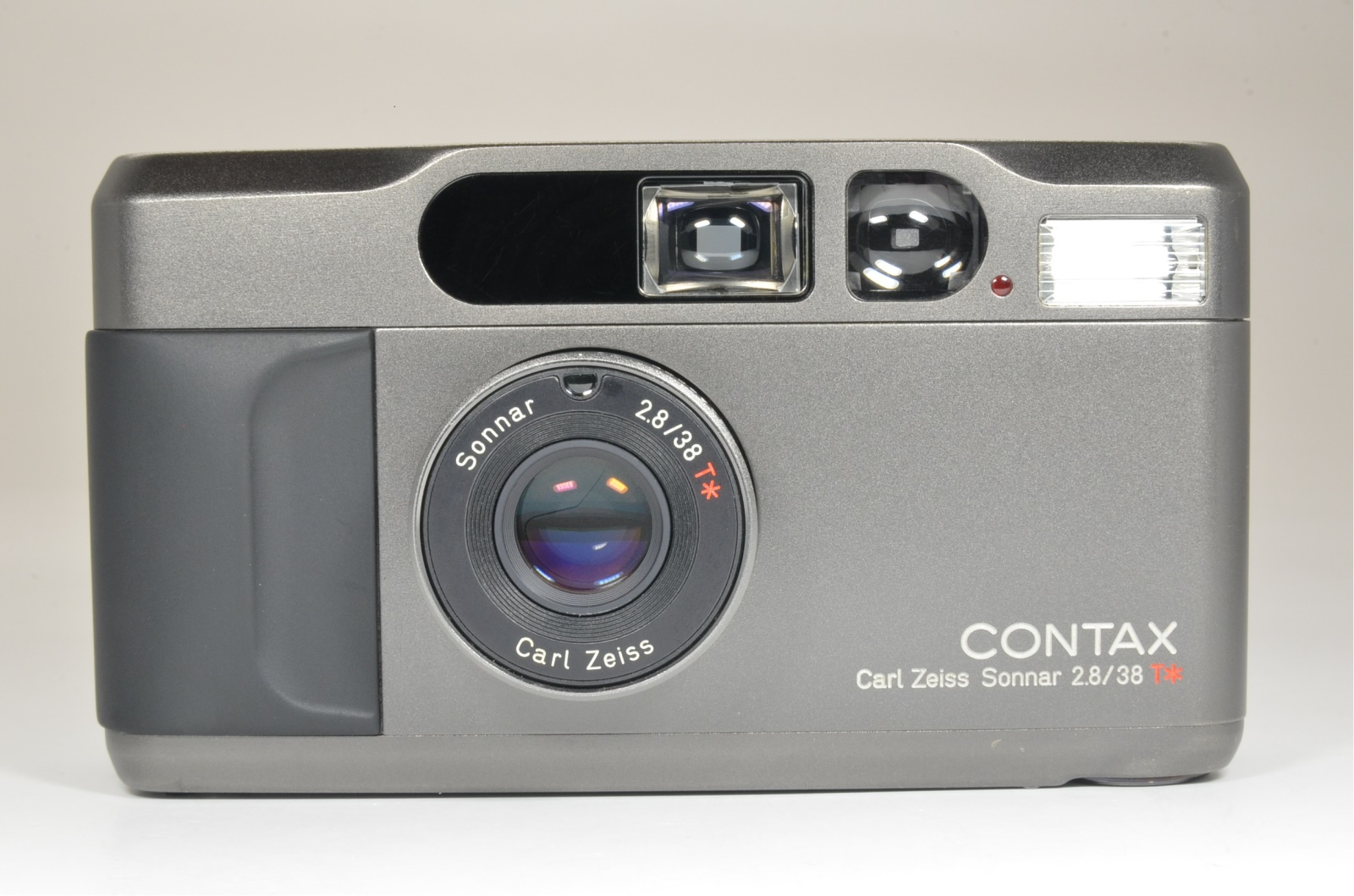 contax t2 titanium black film camera w/ full leather case shooting tested