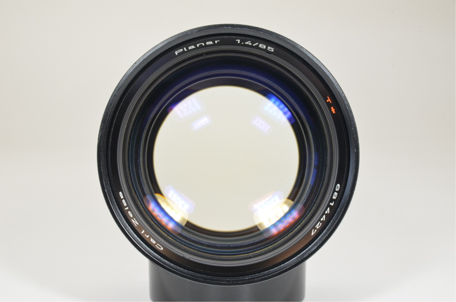contax carl zeiss planar 85mm f1.4 mmg west germany w/ lens hood shooting tested