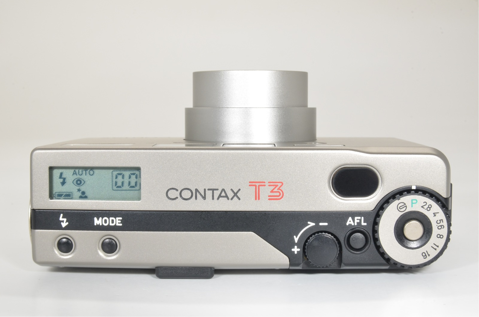 contax t3 titanium silver double teeth w/ metal hood shooting tested