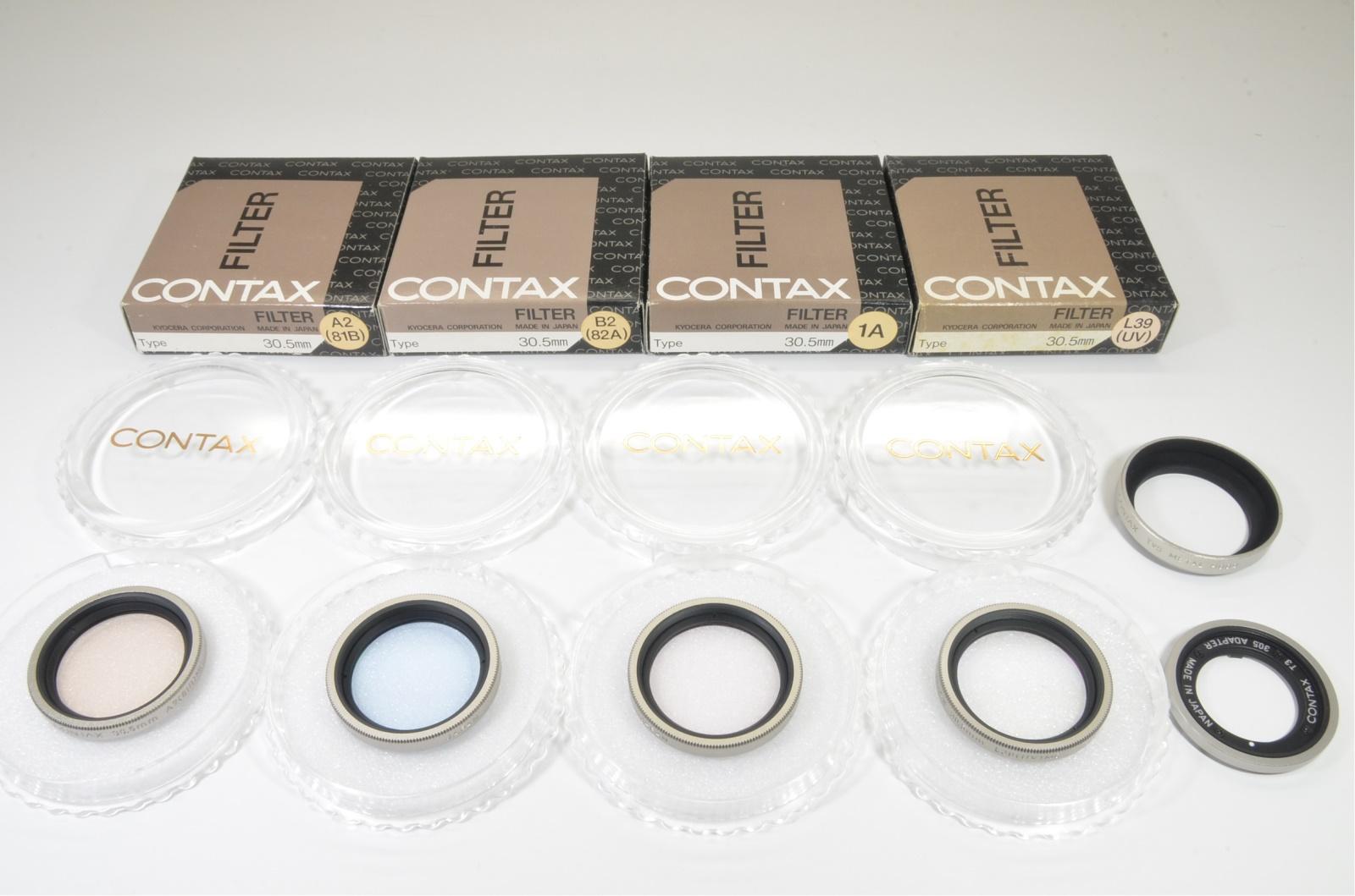 contax t3 titanium silver data back double teeth shooting teste