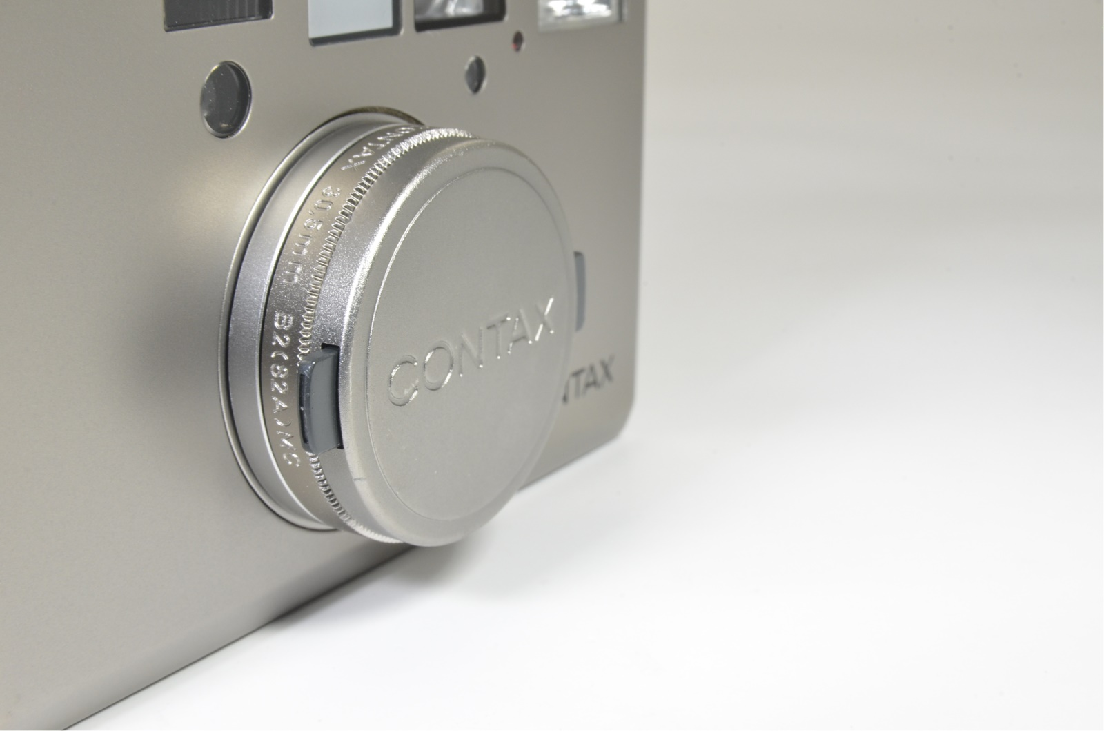 contax t3 titanium silver double teeth, lens hood, 5 filters shooting tested
