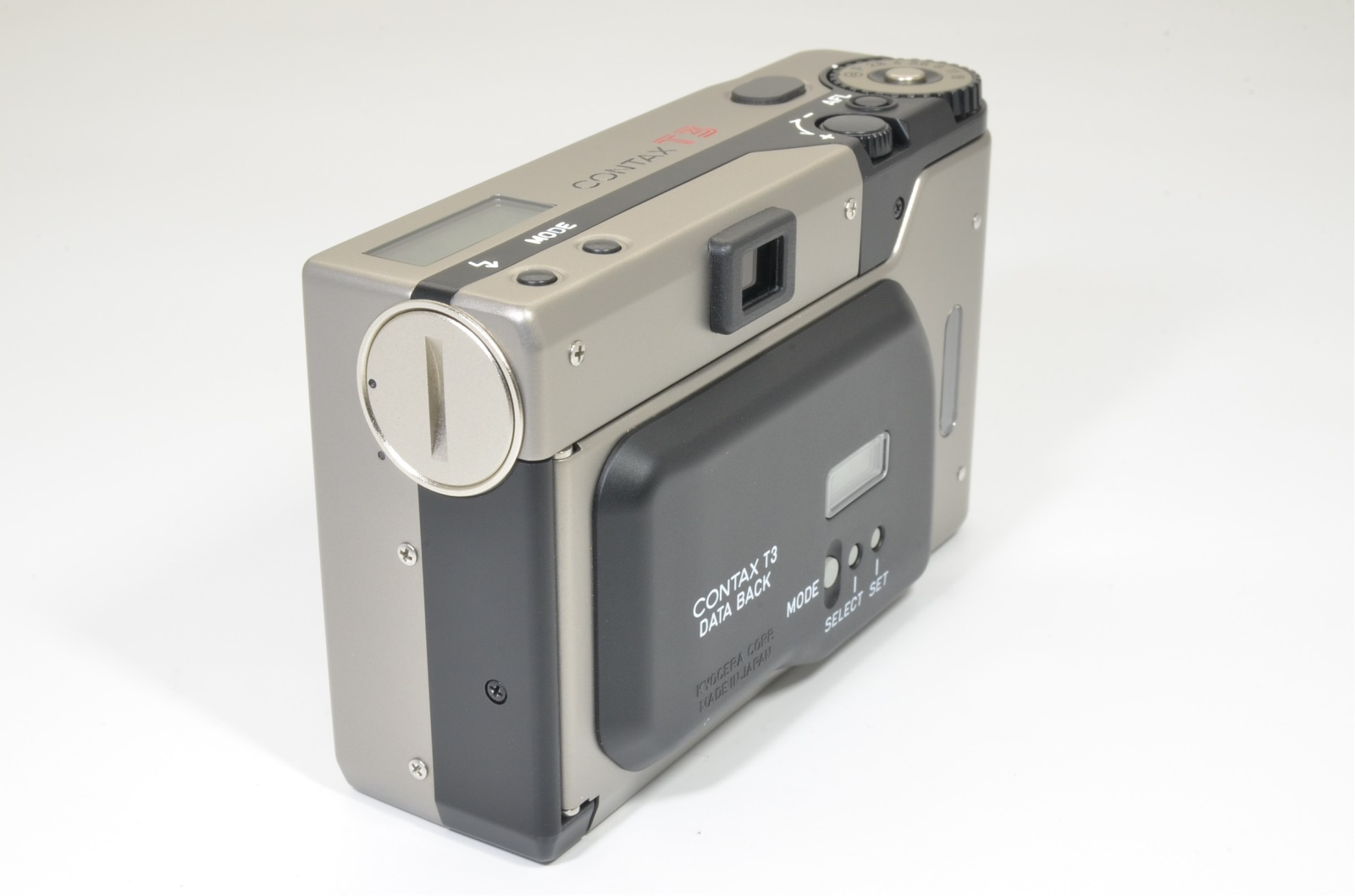 contax t3 titanium silver data back double teeth shooting tested