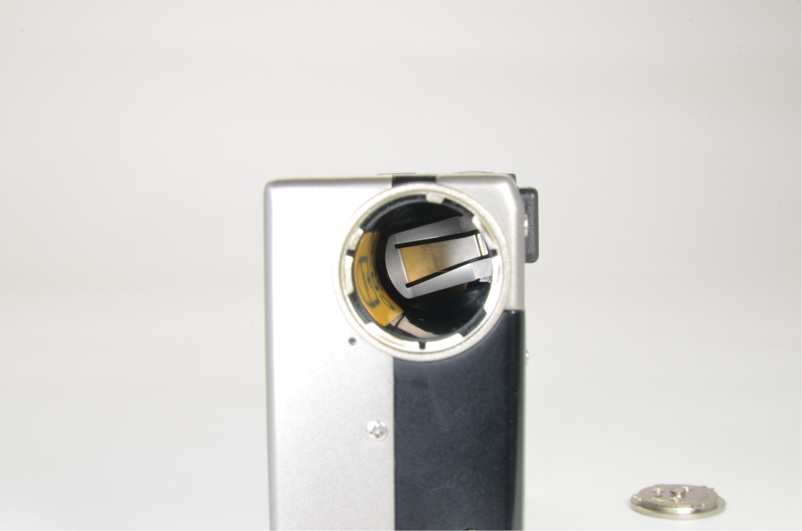 contax t3 titanium silver double teeth near mint shooting tested