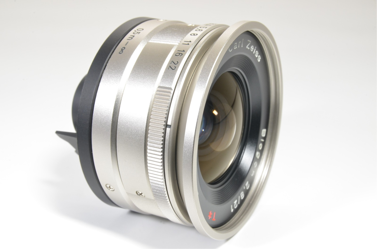 contax carl zeiss t* biogon 21mm f2.8 lens w/ view finder for g2 japan