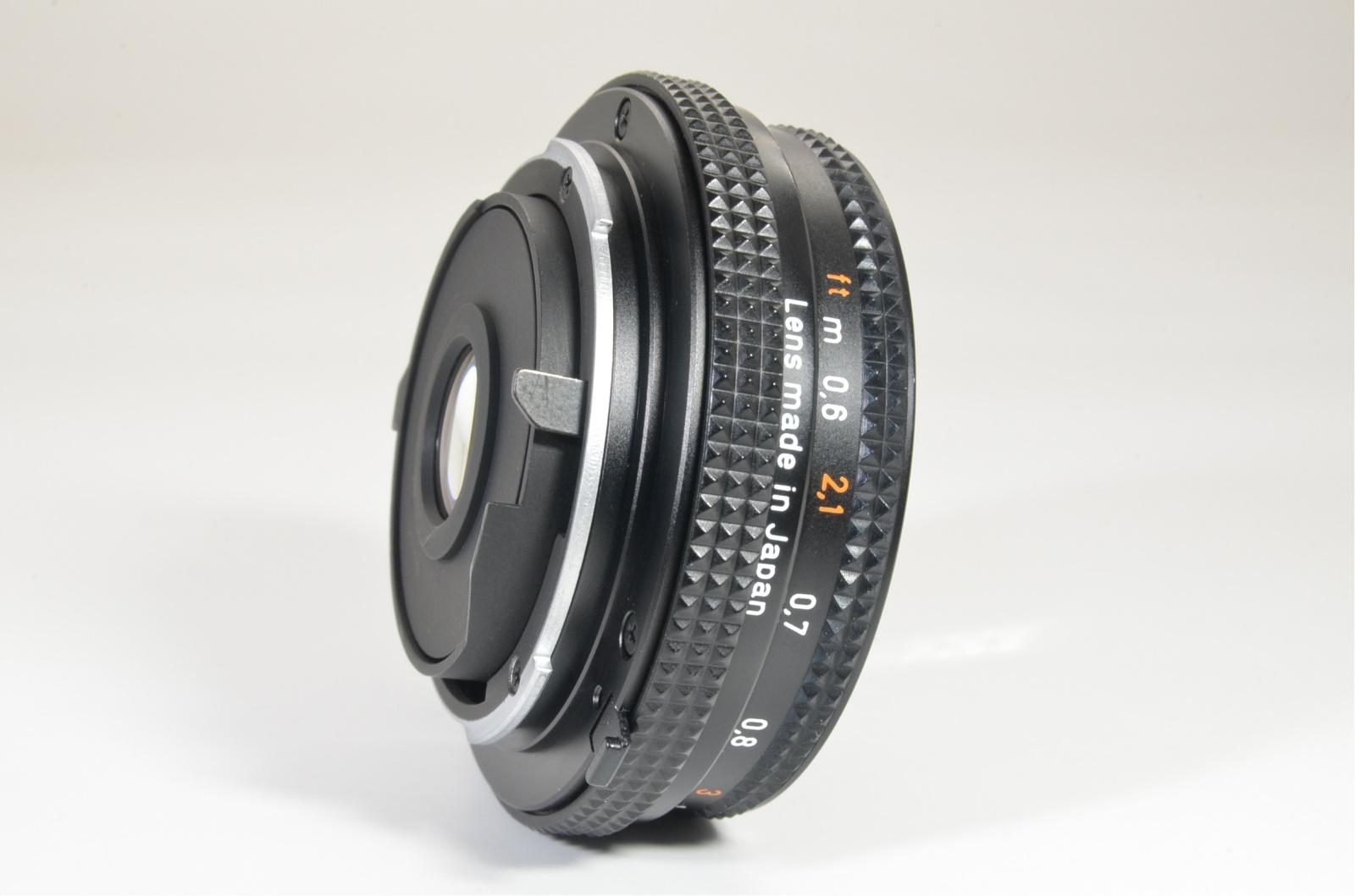 contax carl zeiss tessar t* 45mm f2.8 mmj japan shooting tested