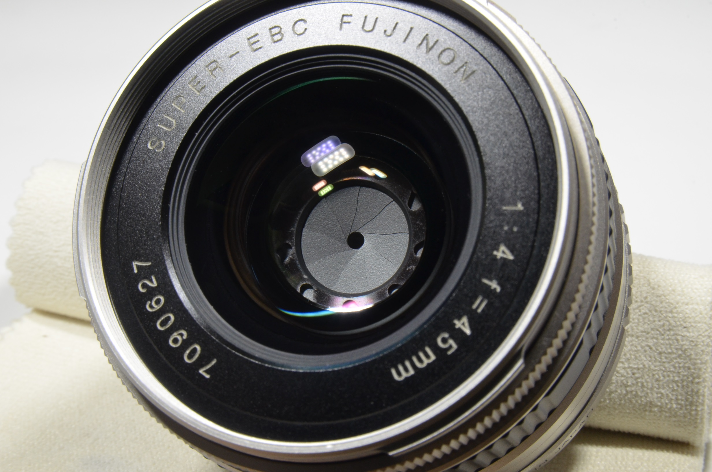 fujifilm tx-1 35mm film camera with fujinon super-ebc 45mm f4