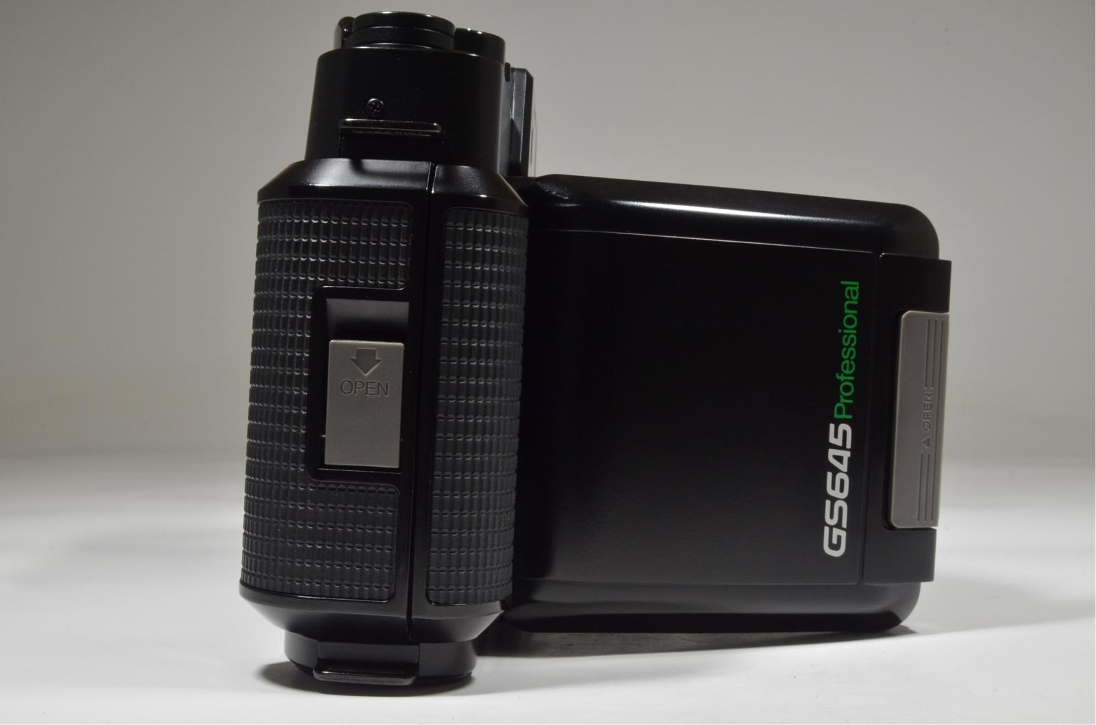 fujifilm fujica gs645 pro fujinon 75mm f3.4 medium format film camera