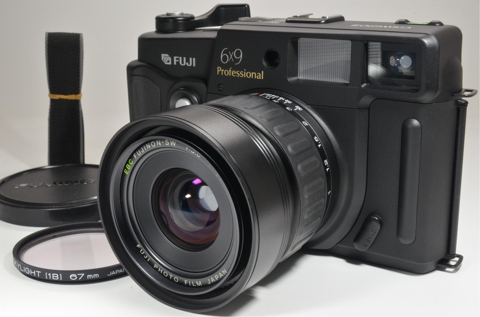fuji fujifilm gsw690iii professional ebc 65mm f5.6 count '051' rare!
