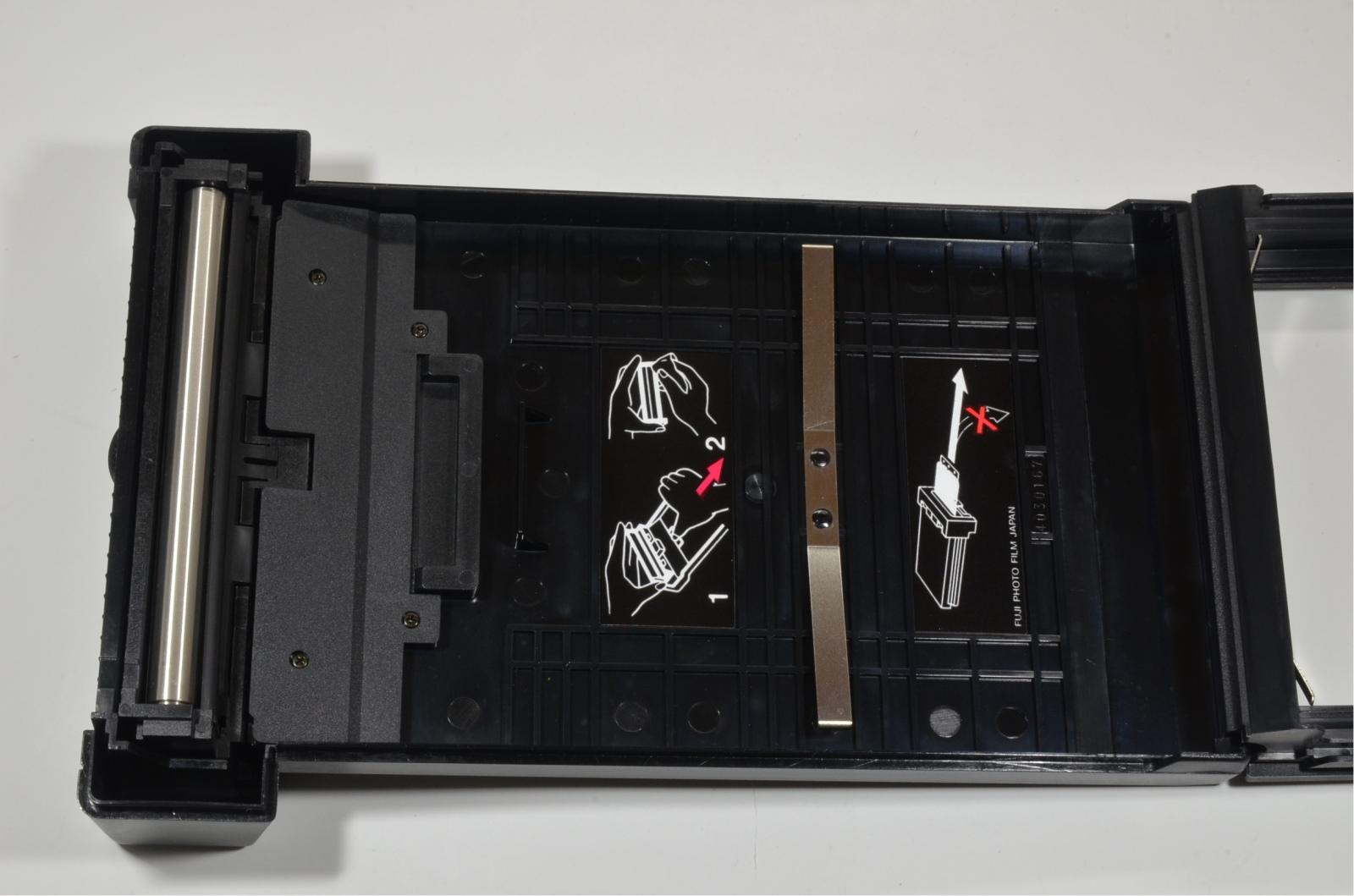 fuji fujifilm pa-45 4x5 polaroid instant film back holder 'unused'