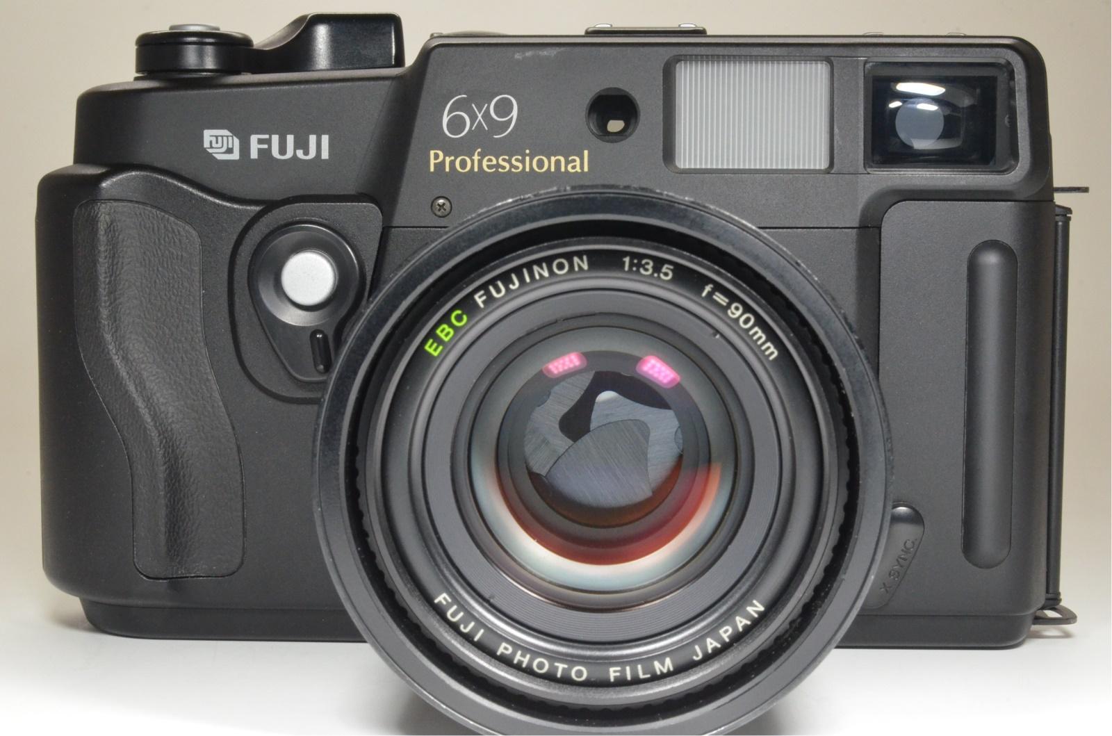 fuji fujifilm gw690iii 90mm f3.5 medium format count only '084' from japan