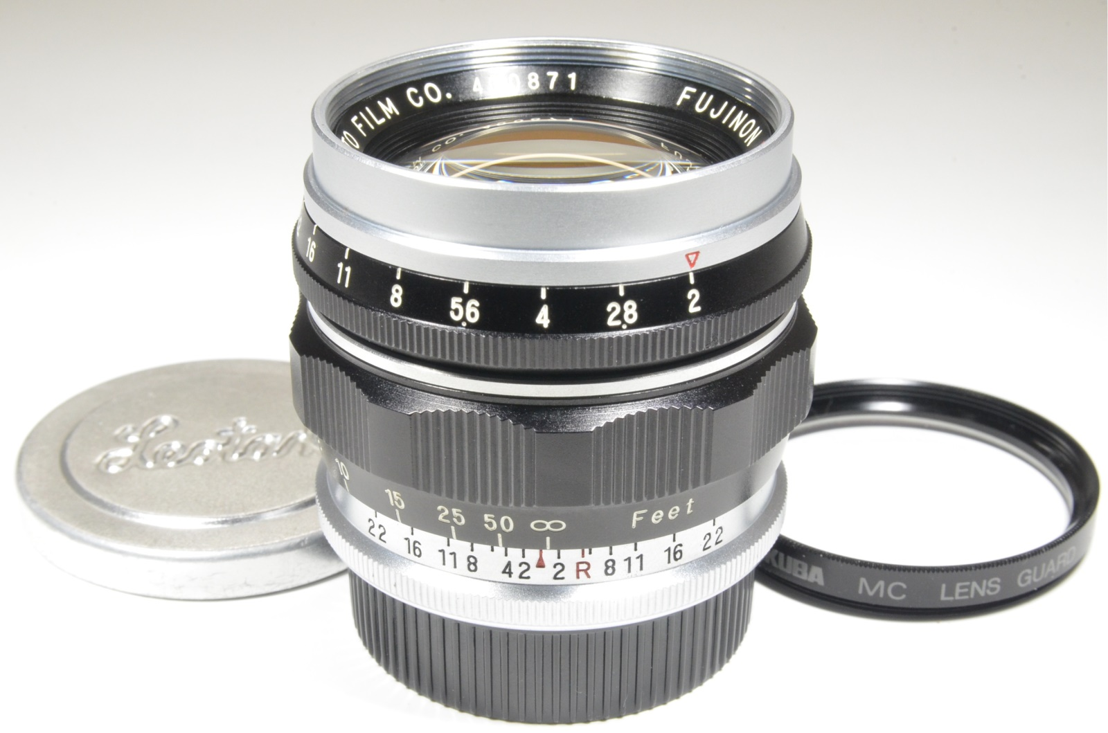 fuji fujinon 50mm 5cm f2 l mount lens for leica m39 l39 ltm from japan