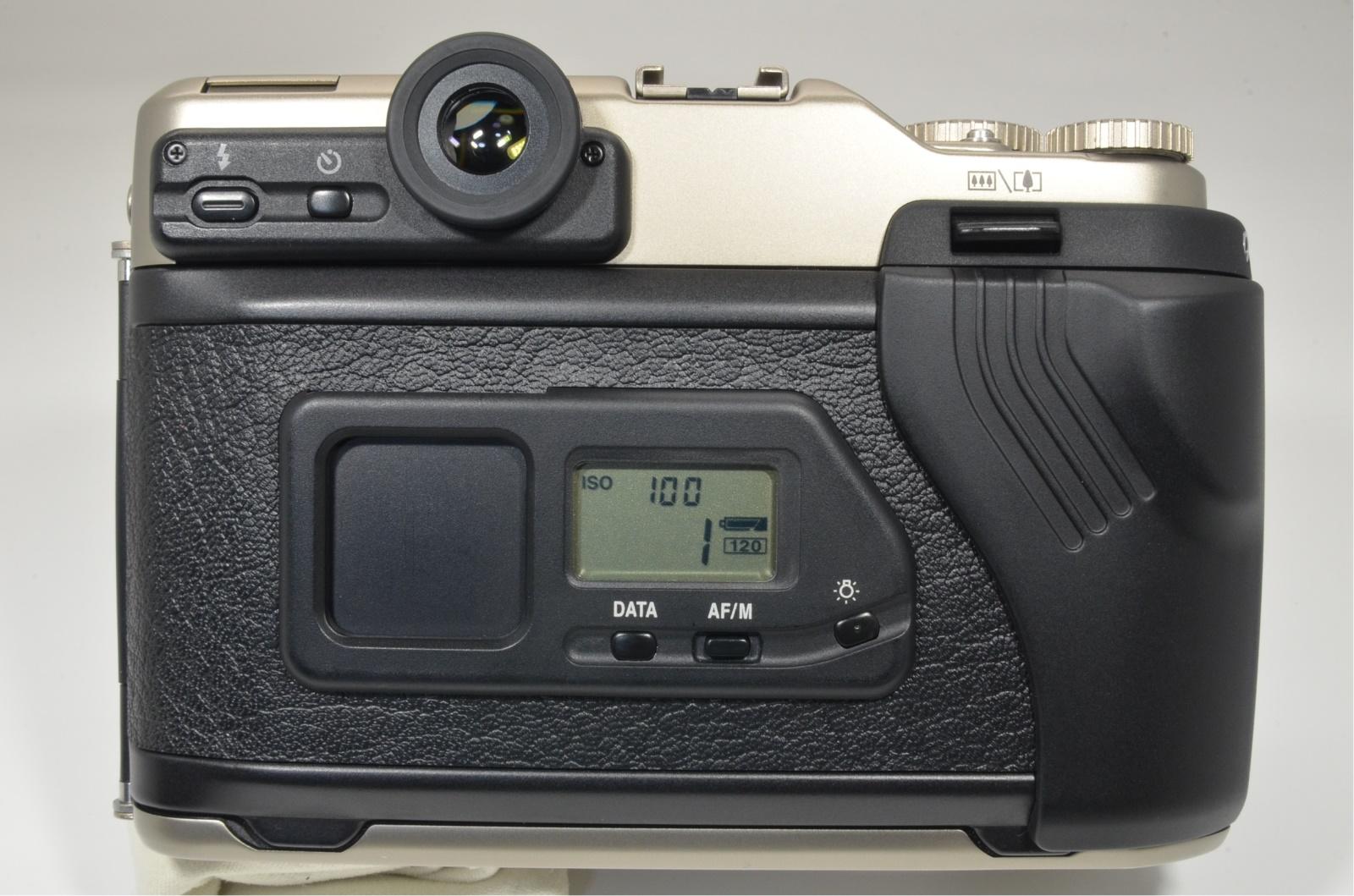 fujifilm ga645zi professional silver medium format film camera shooting tested