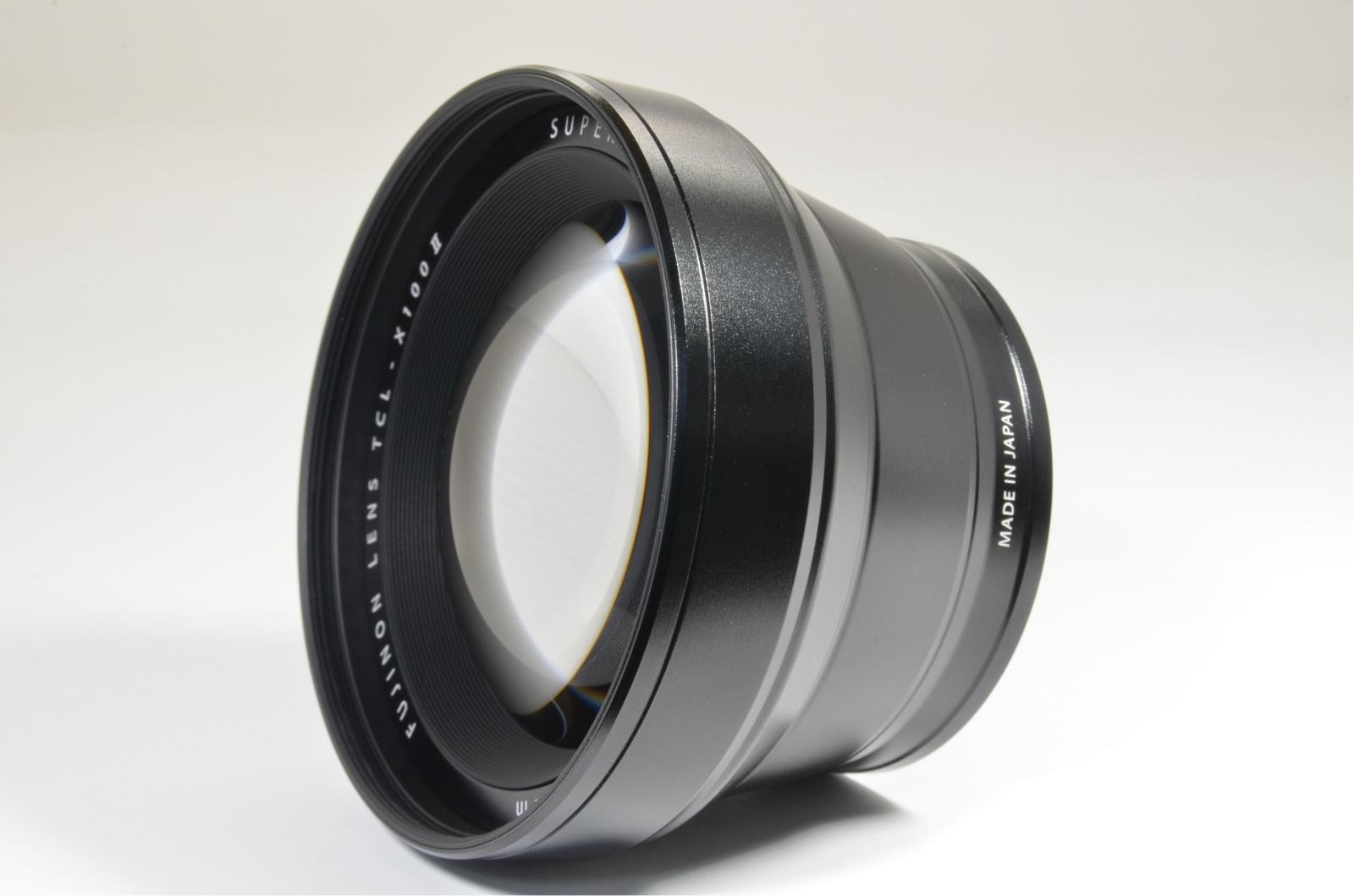 fuji fujifilm tcl-x100 ii tele conversion lens black for x100f x100v