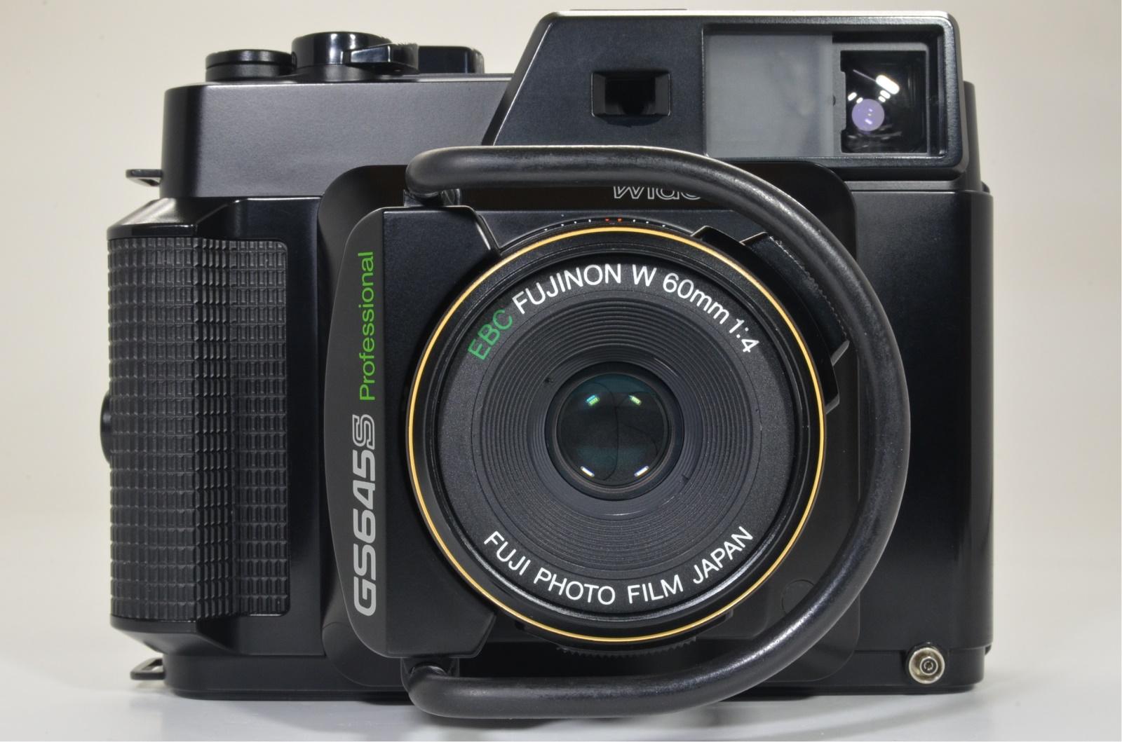 fuji fujifilm gs645s fujinon w 60mm f4 camera from japan film tested