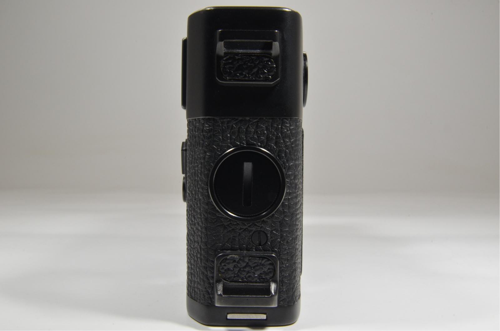 leica m5 black 3 lug year 1973 s/n 1376449 rangefinder camera