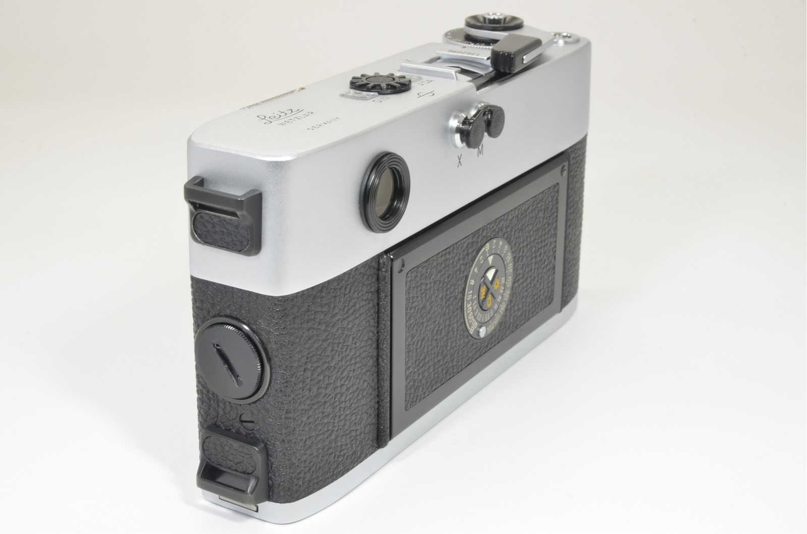 leica m5 silver chrome 3 lug s/n 1362096 year 1973 shooting tested