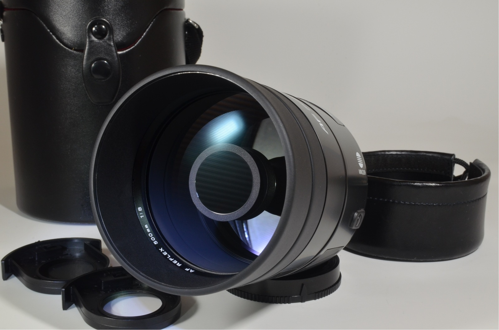 minolta af reflex 500mm f8 mirror lens for sony alpha