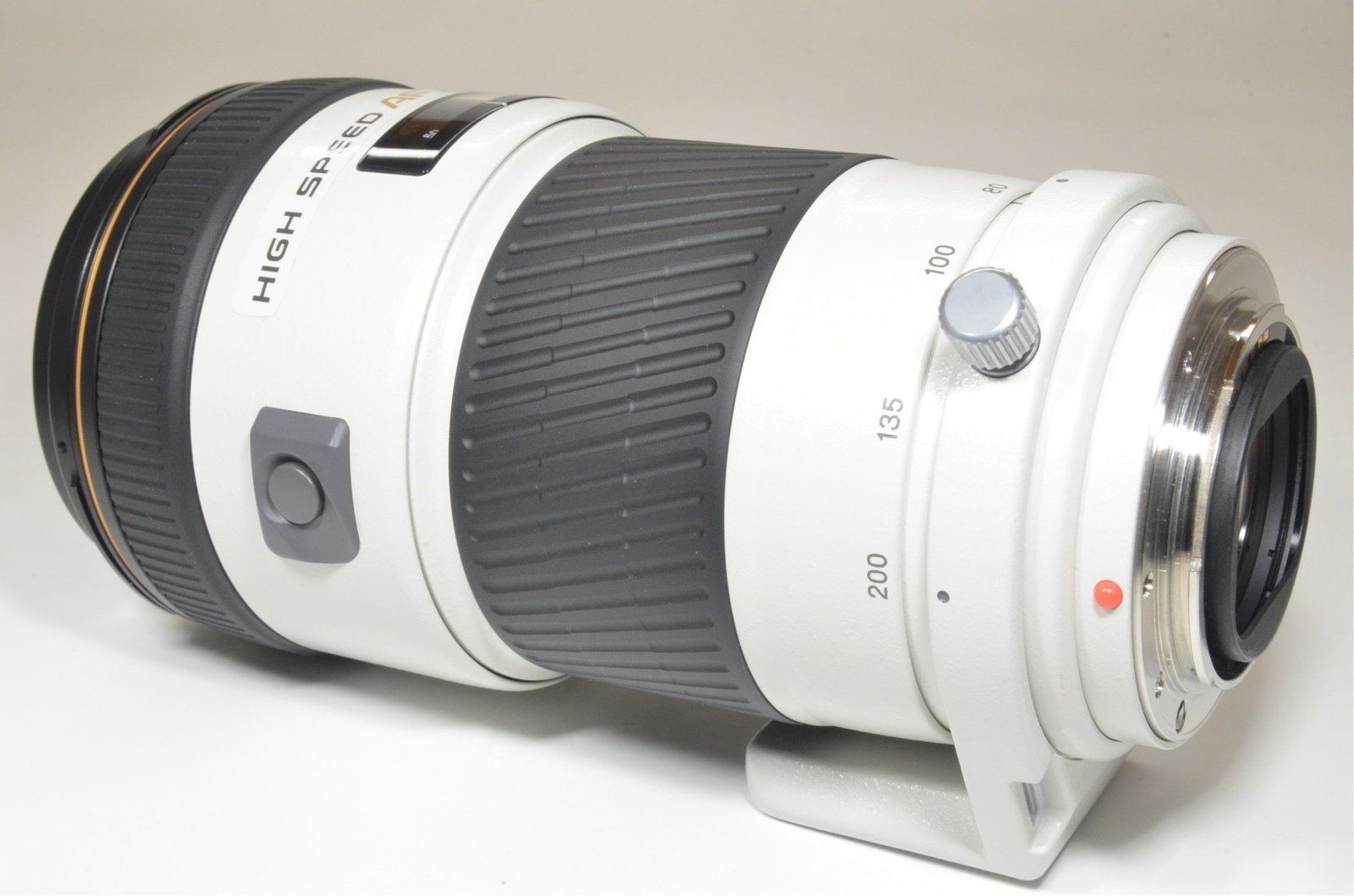 minolta high speed af apo 80-200mm f2.8 g lens sony with case and box