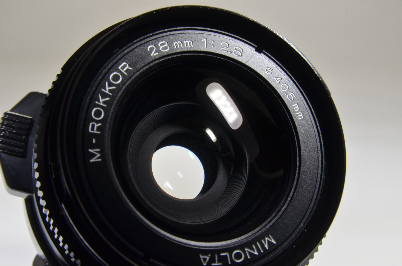 minolta cle film camera, m-rokkor 40mm, 90mm, 28mm, flash, grip shooting tested