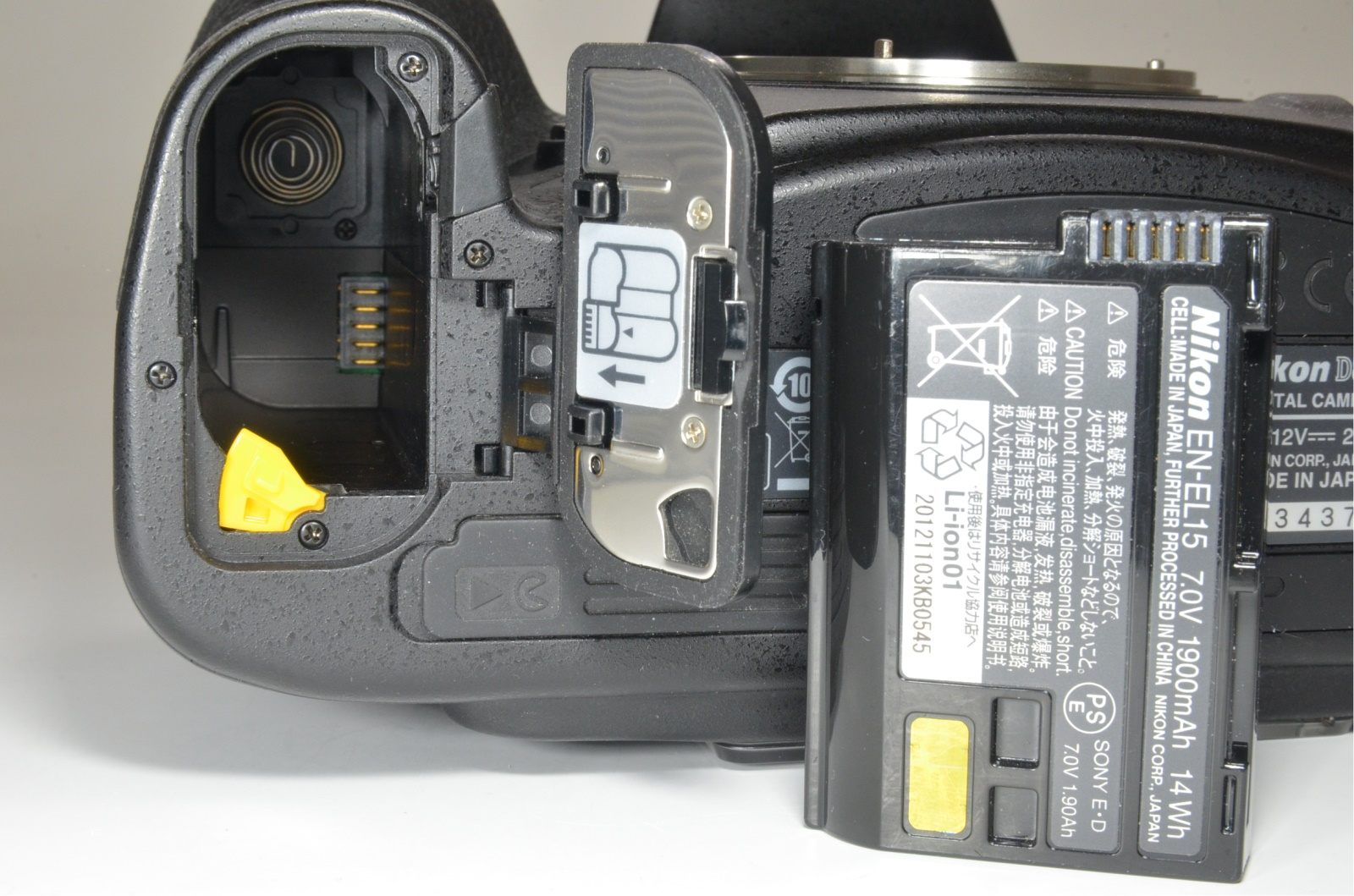 nikon d800 36.3mp digital slr camera body shutter count 9040 from japan
